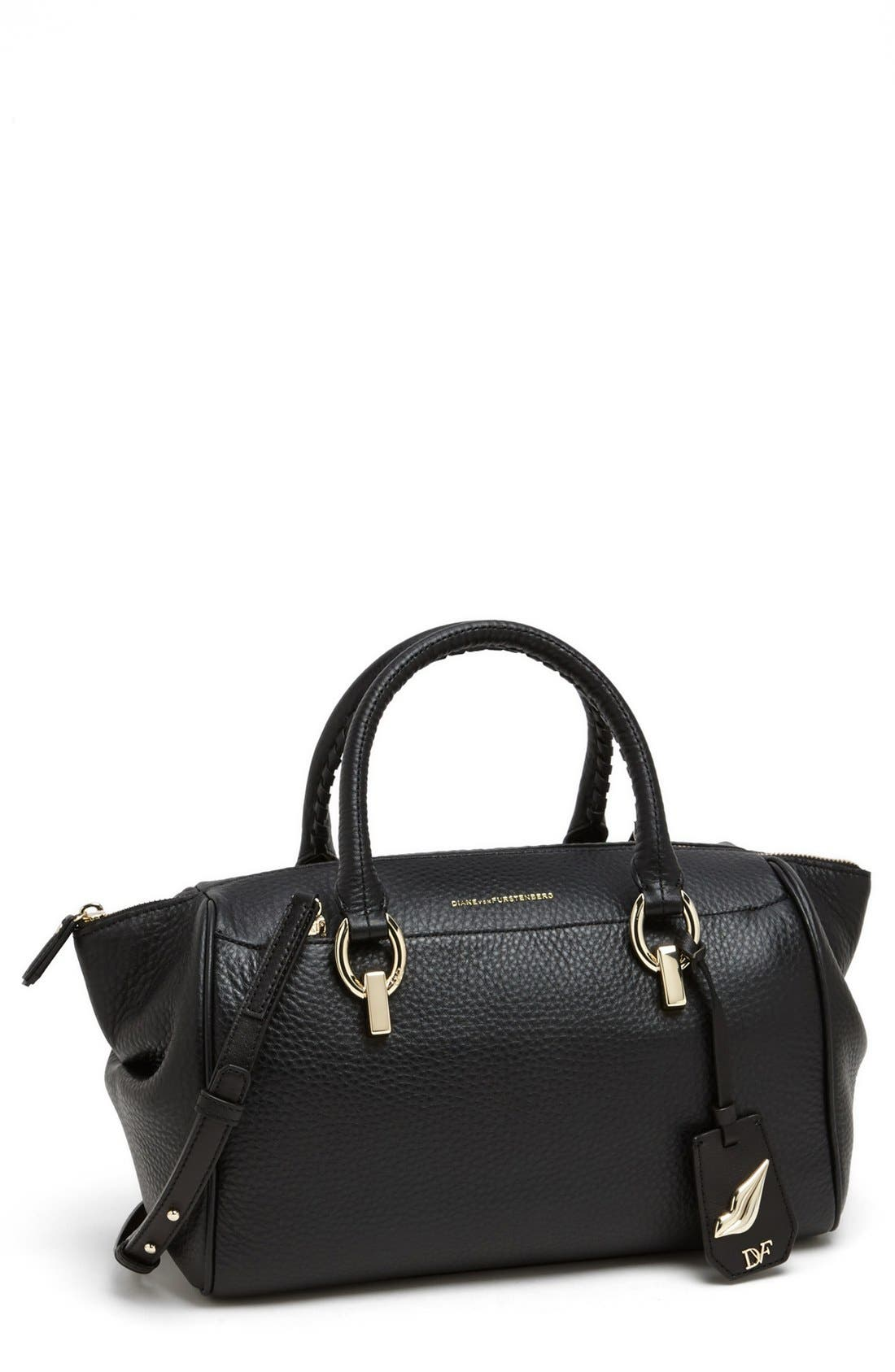 Alternate Image 1 Selected - Diane von Furstenberg 'Small Sutra' Leather Satchel
