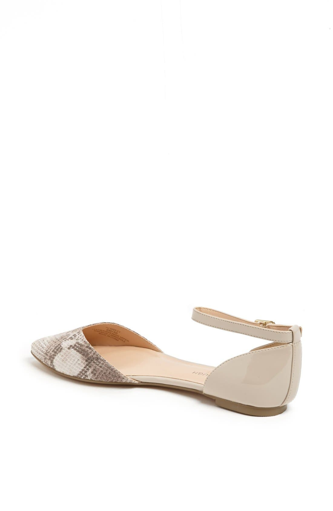 Alternate Image 2  - Sole Society 'Hadley' Ankle Strap Pointy Toe Flat