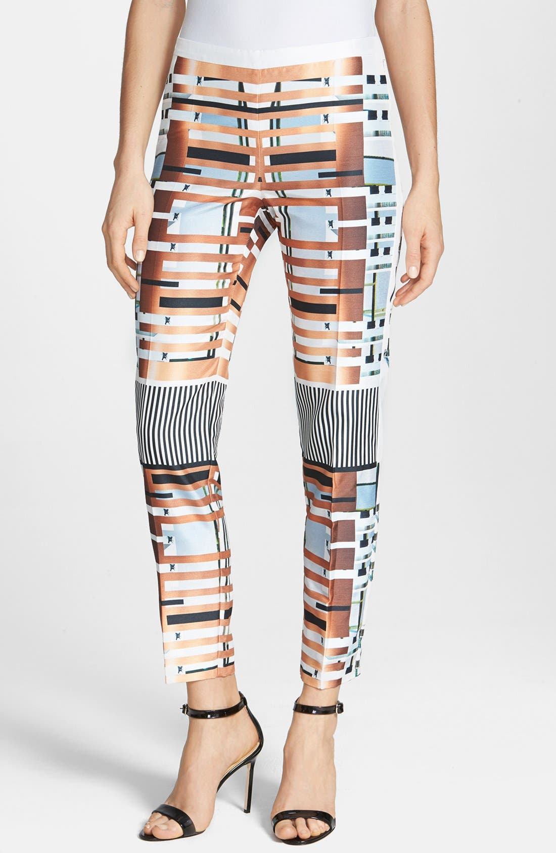 Alternate Image 1 Selected - Clover Canyon 'Woven Metal' Pants