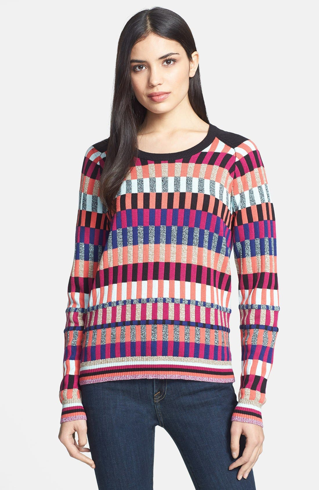 Alternate Image 1 Selected - MARC BY MARC JACOBS 'Ines' Silk Blend Sweater