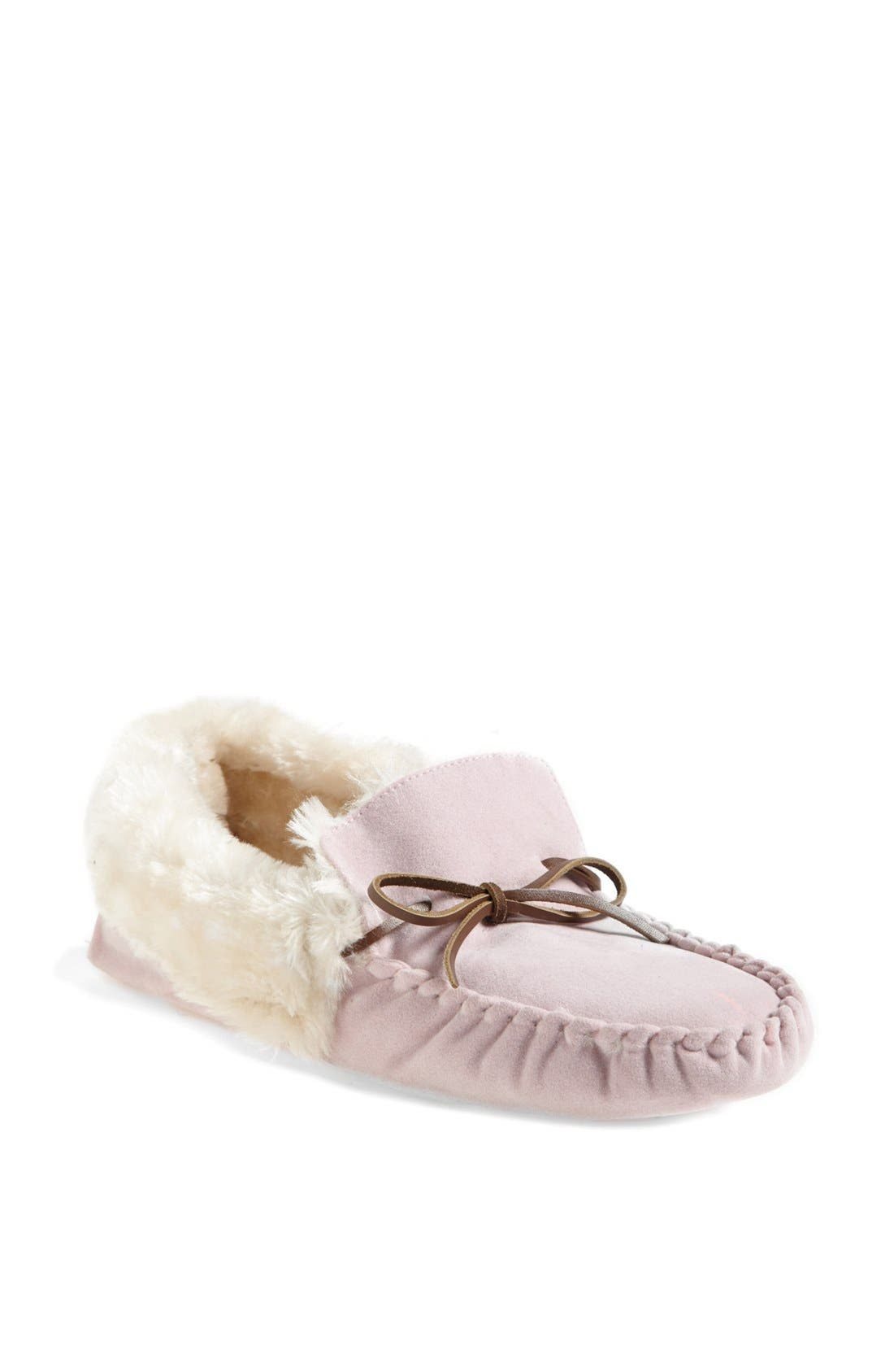 Alternate Image 1 Selected - Nordstrom Moccasin Slipper