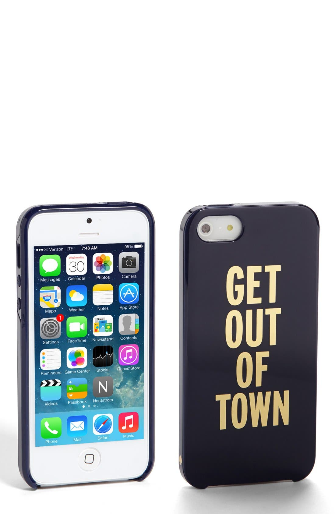 Alternate Image 1 Selected - kate spade new york 'get out of town' iPhone 5 & 5s case