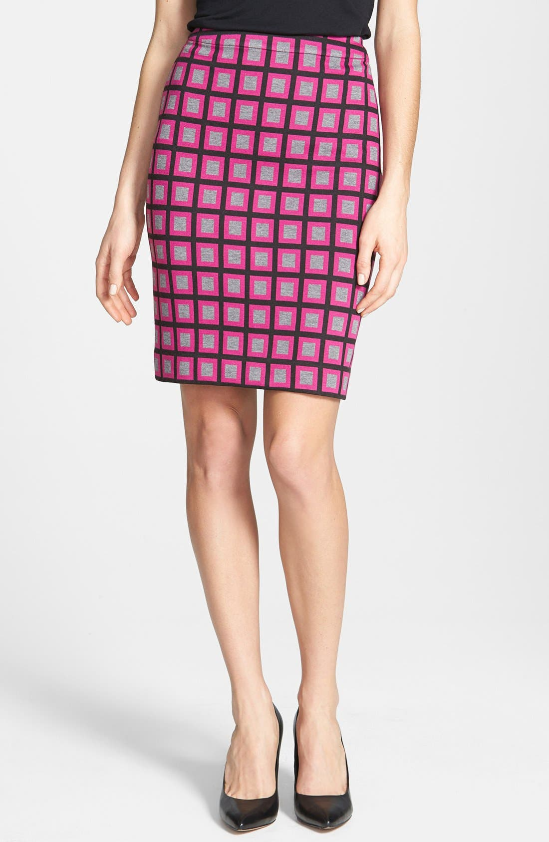 Alternate Image 1 Selected - Halogen® Ponte Pencil Skirt