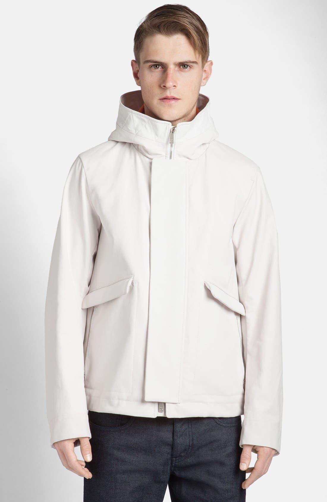 Alternate Image 1 Selected - Jil Sander Water Repellent Hooded Jacket