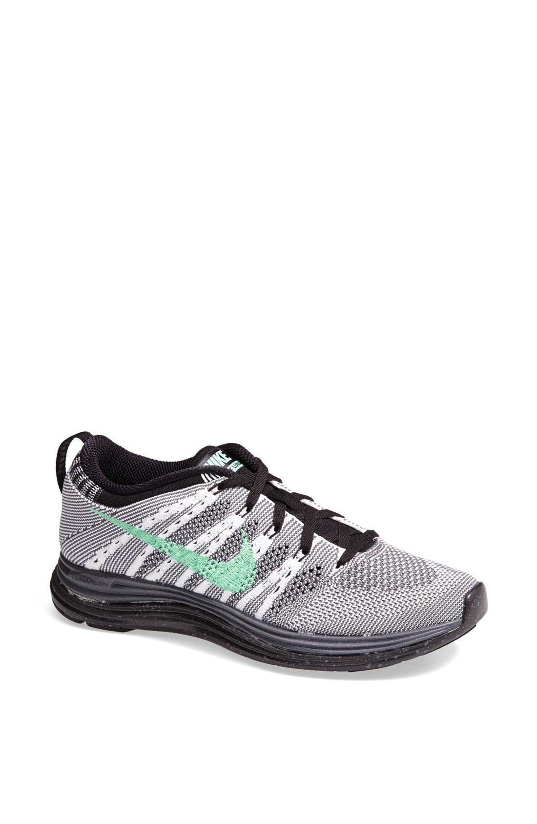 Alternate Image 1 Selected - Nike 'Flyknit Lunar1+' Running Shoe (Women)
