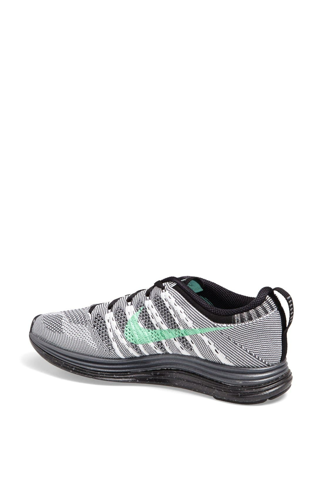 Alternate Image 2  - Nike 'Flyknit Lunar1+' Running Shoe (Women)