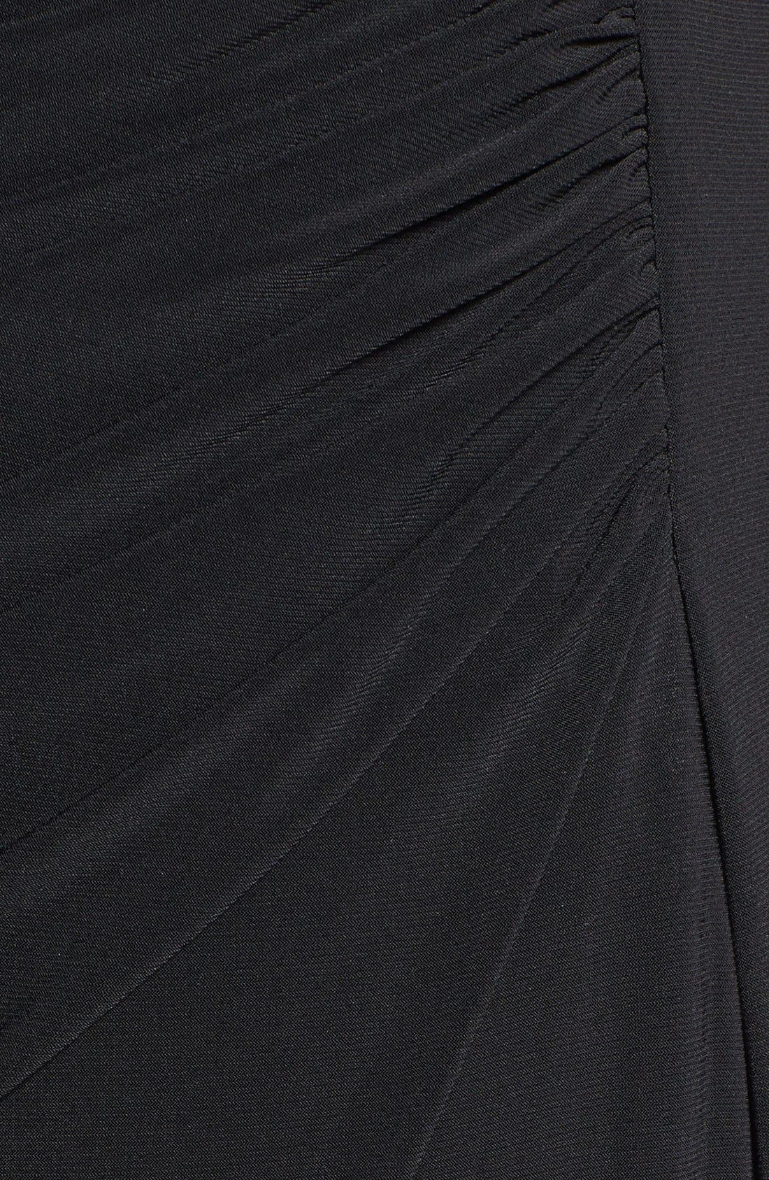 Alternate Image 3  - Xscape Long Stretch Knit Dress (Plus Size)