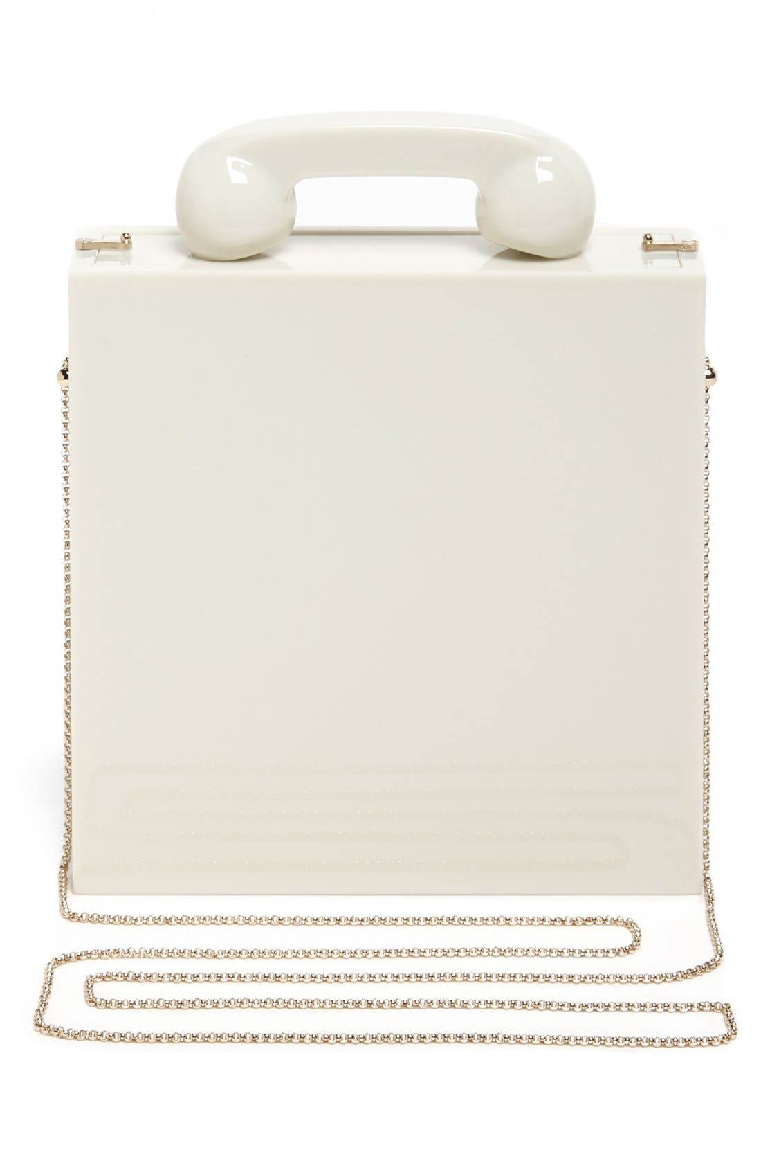 Alternate Image 4  - Charlotte Olympia 'Chatterbox' Clutch
