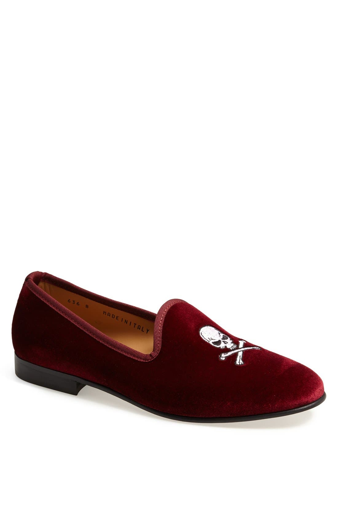Alternate Image 1 Selected - Del Toro Velvet Loafer