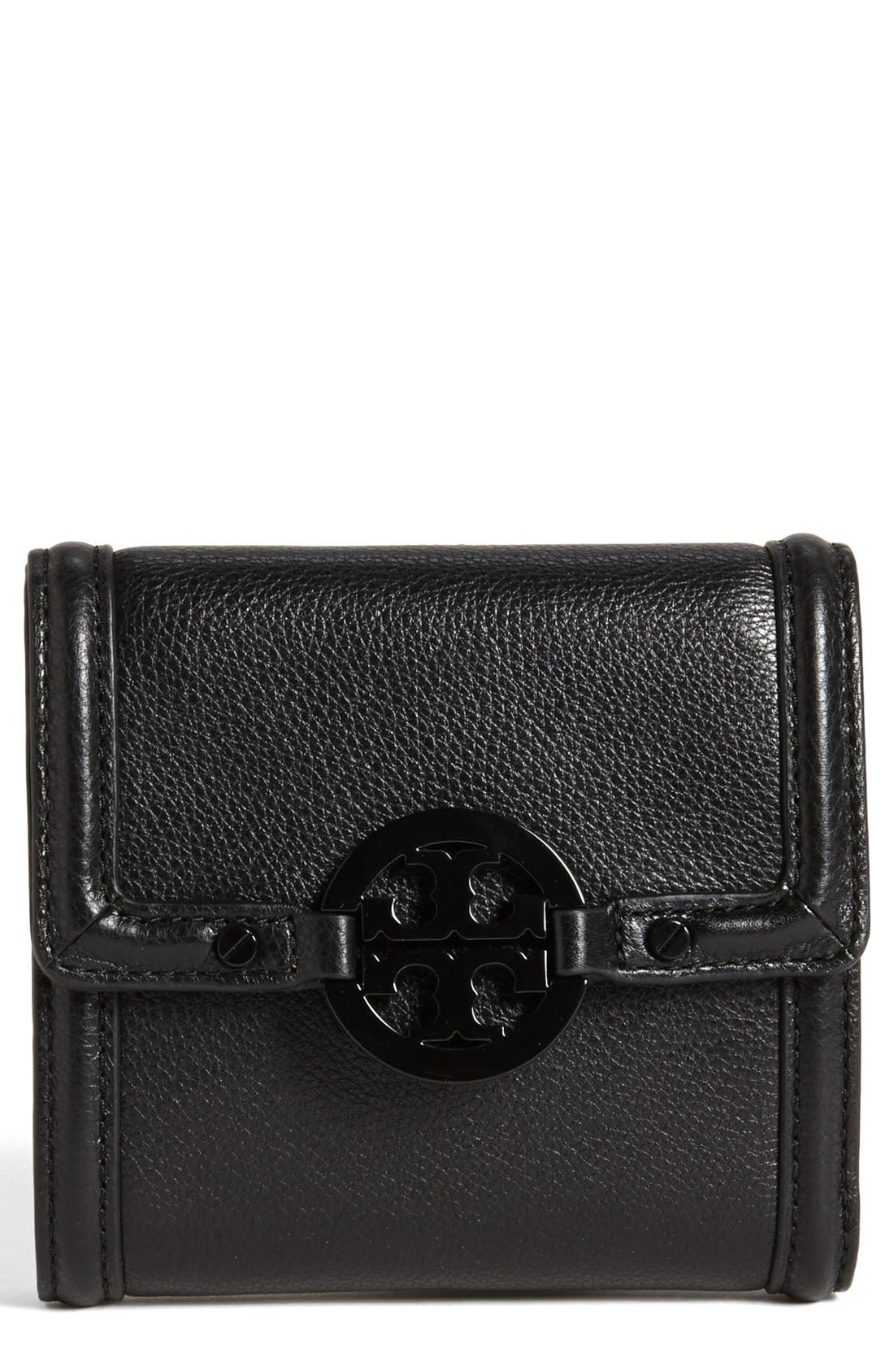 Main Image - Tory Burch 'Amanda' Trifold French Wallet