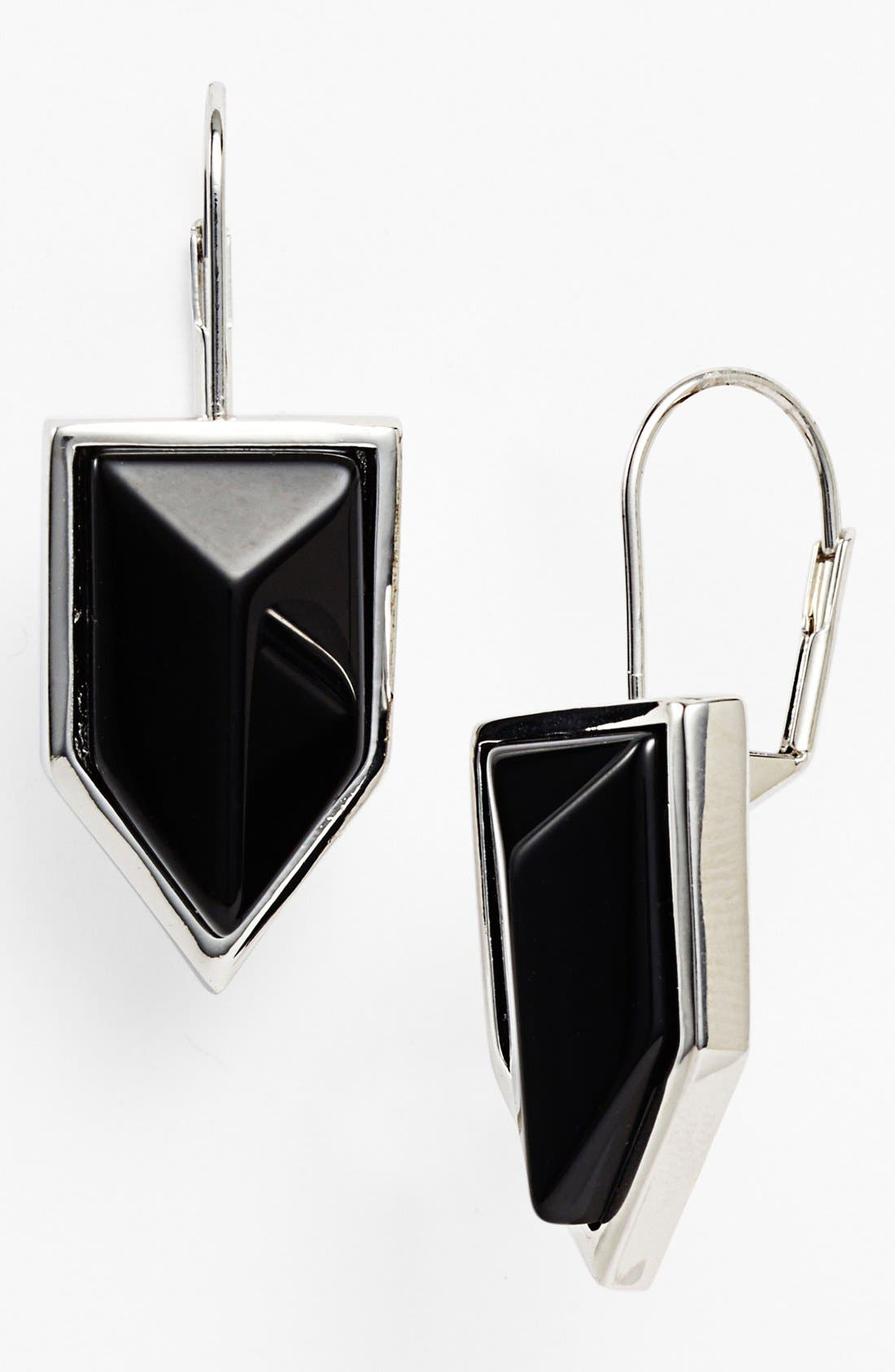 Alternate Image 1 Selected - Vince Camuto 'Clearview' Stone Drop Earrings