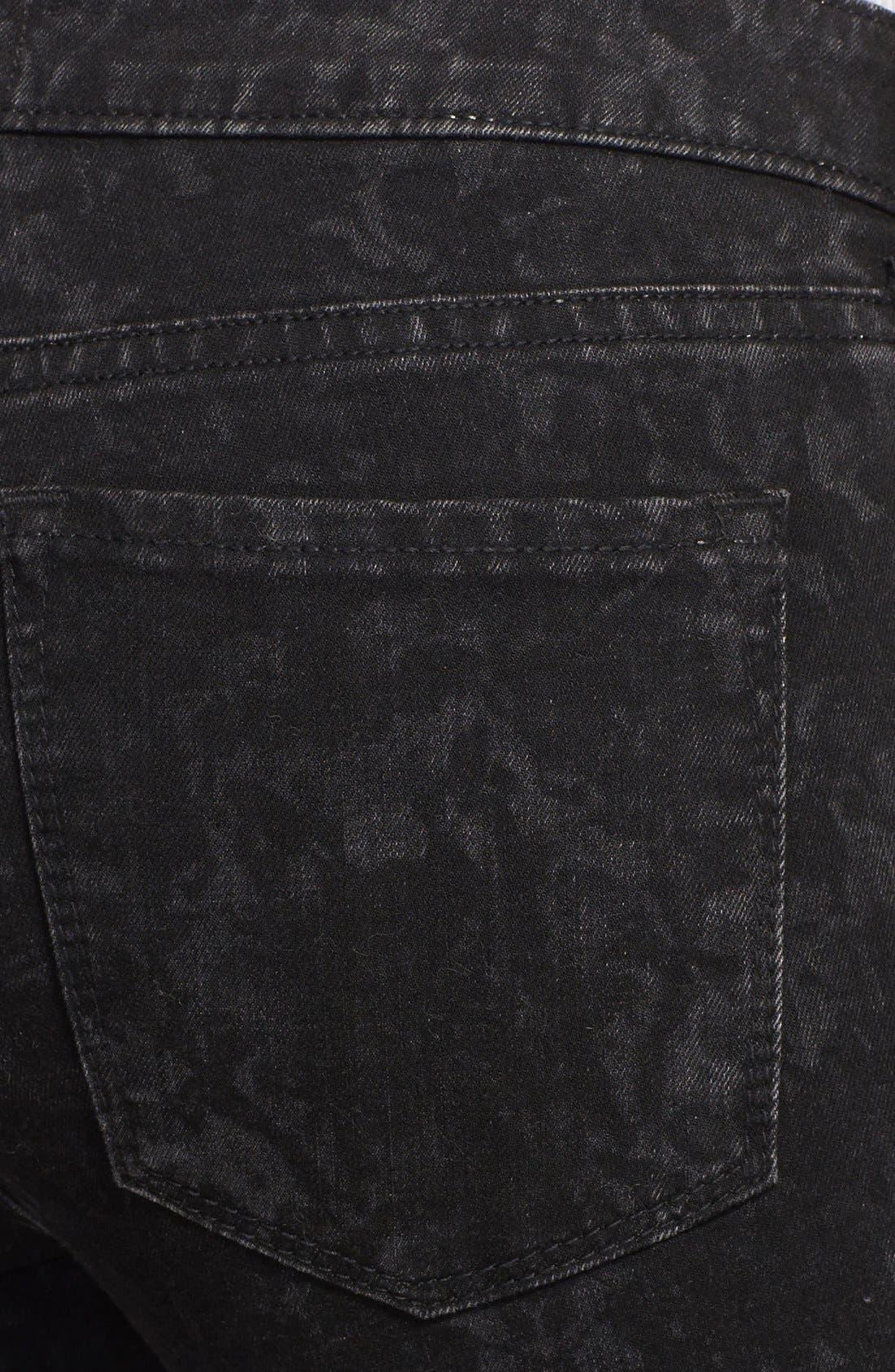 Alternate Image 3  - Vince 'Dylan' Ankle Skinny Jeans (Black Floral)