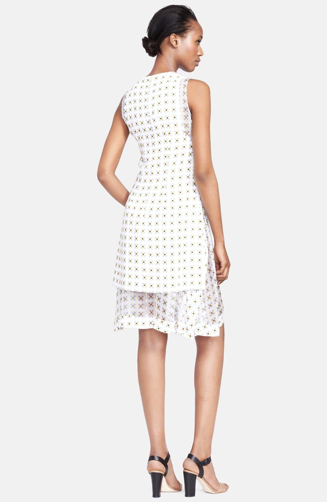 Alternate Image 2  - Thakoon Organza Layer Print Dress