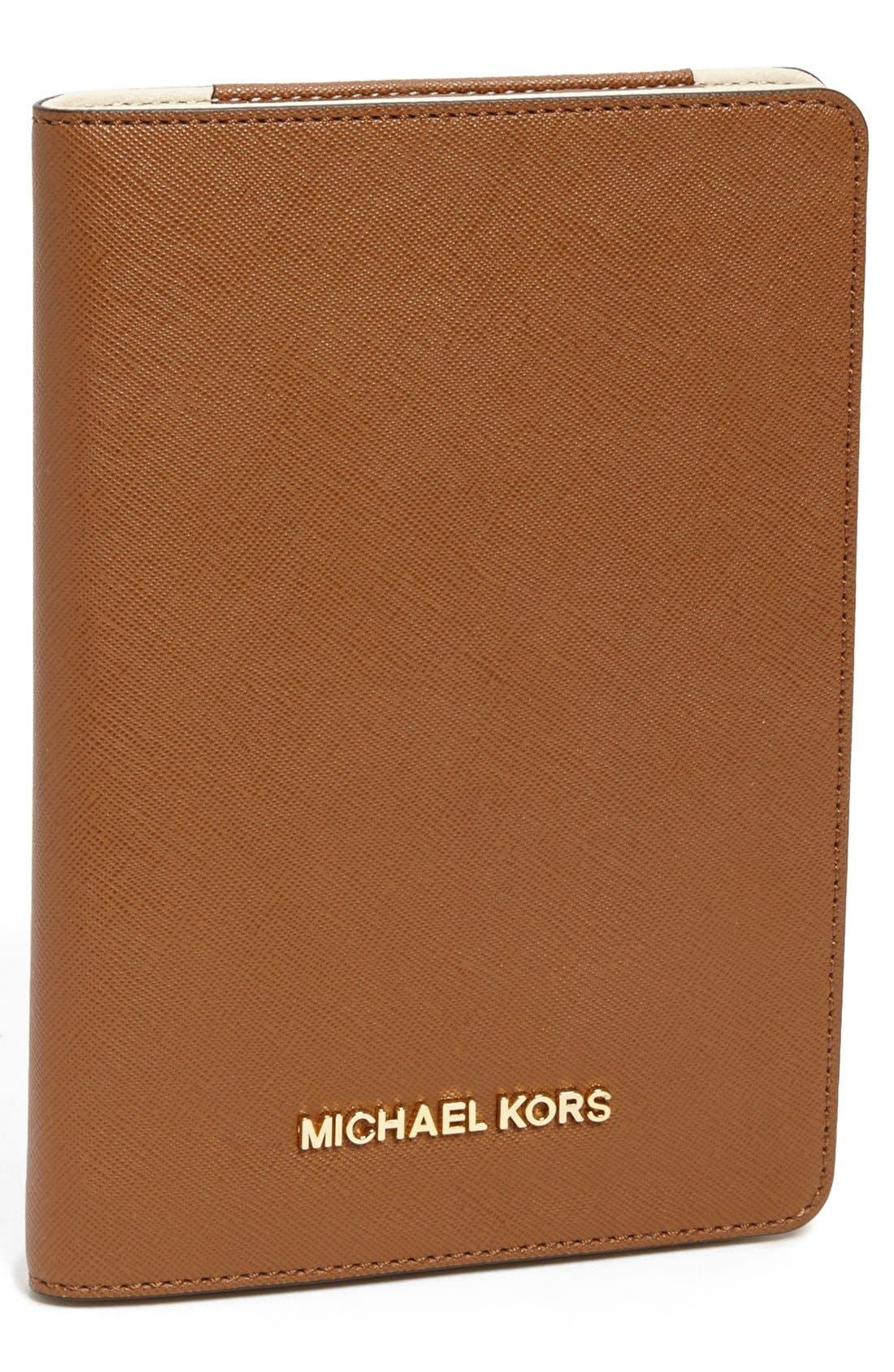 Alternate Image 1 Selected - MICHAEL Michael Kors Saffiano iPad mini Folio