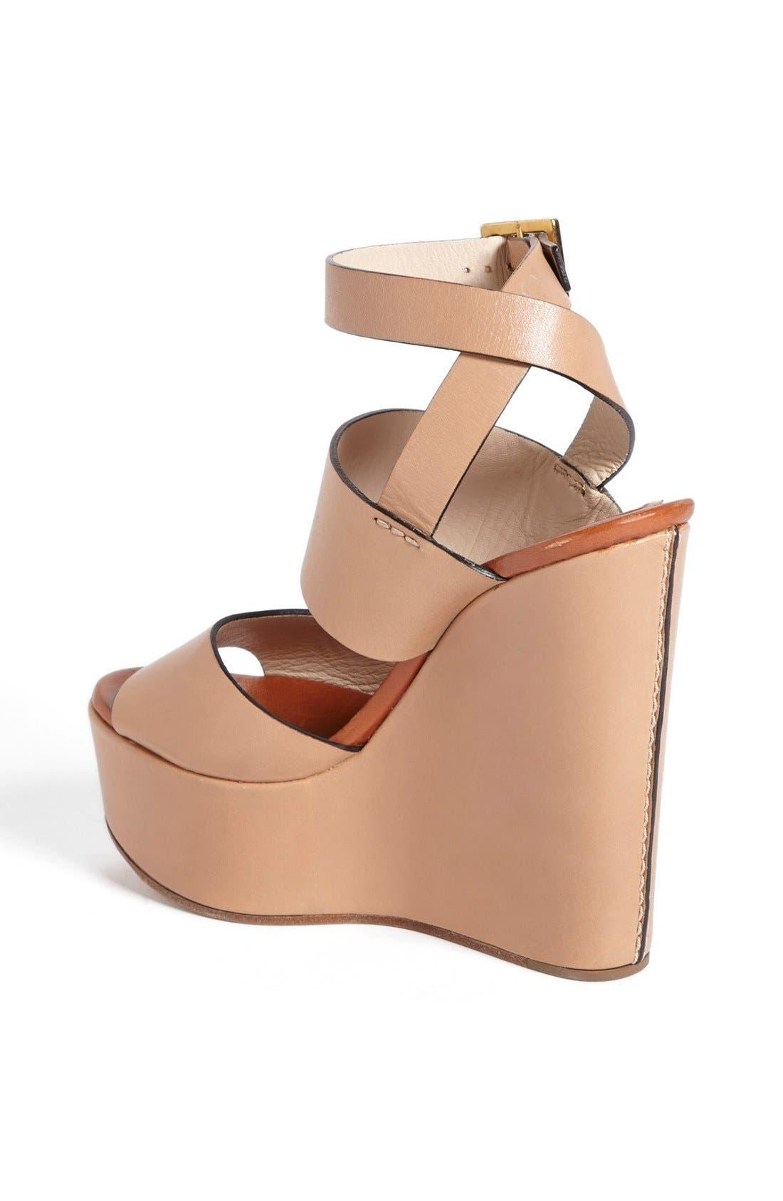 Alternate Image 4  - Chloé 'Central' Wedge Sandal
