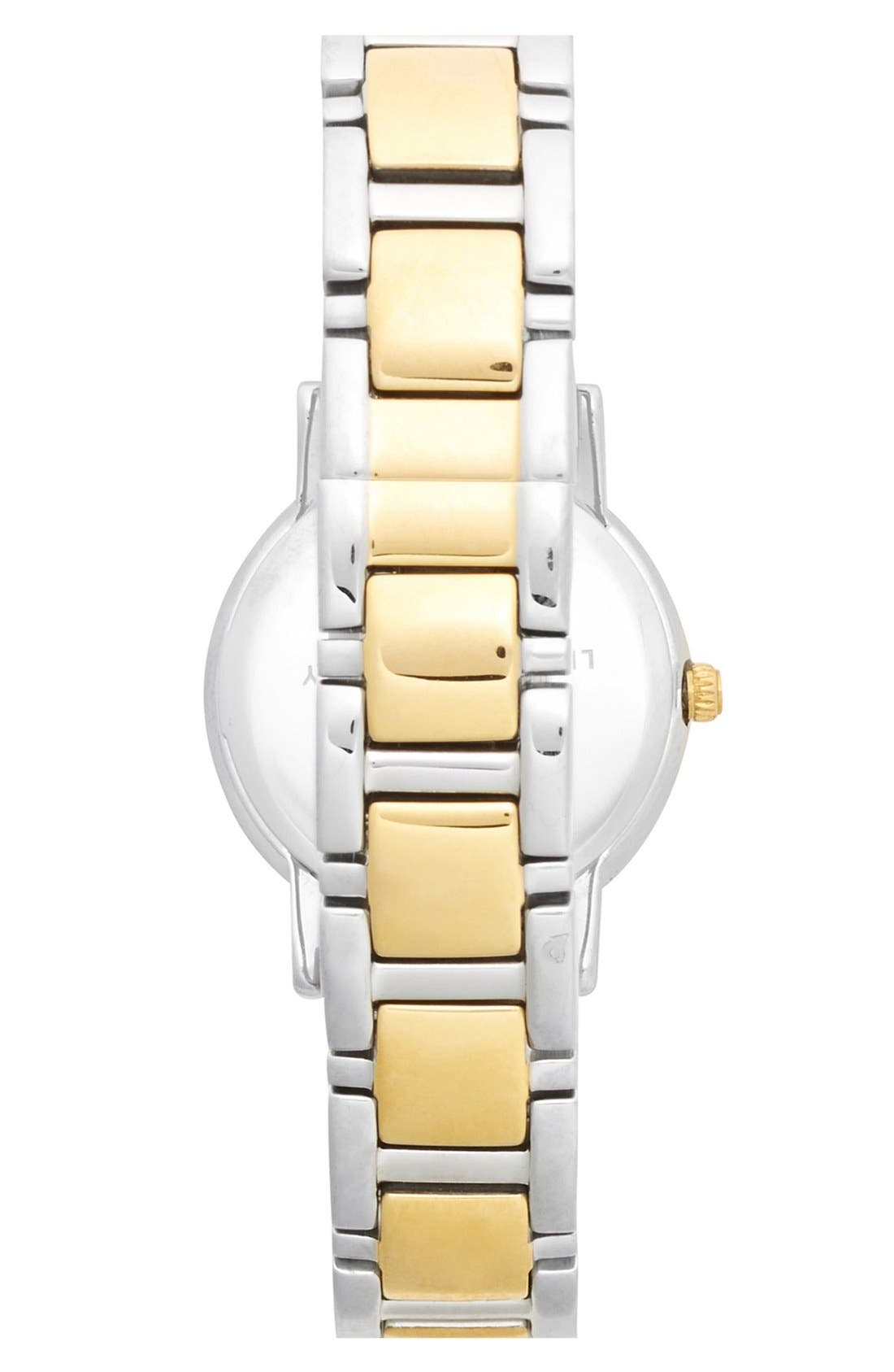 Alternate Image 2  - kate spade new york 'gramercy mini' crystal index watch, 24mm