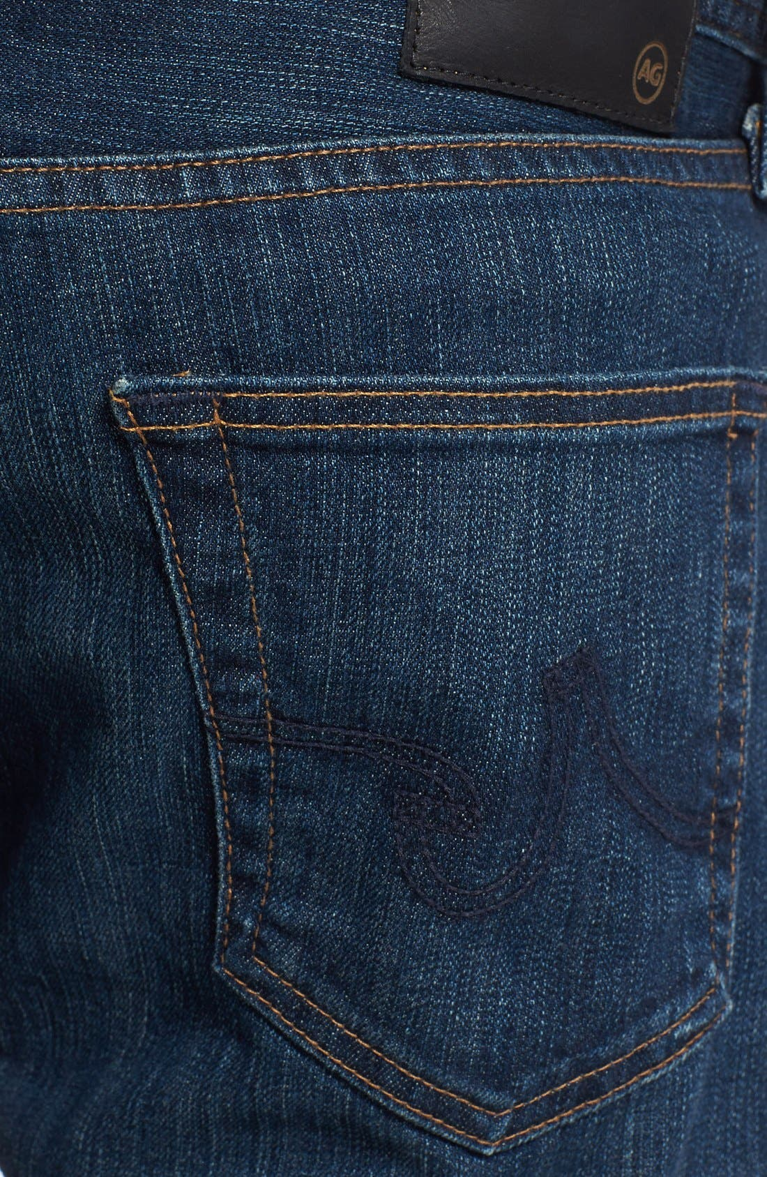 Alternate Image 4  - AG 'Protégé' Straight Leg Jeans (4 Year Brisk)