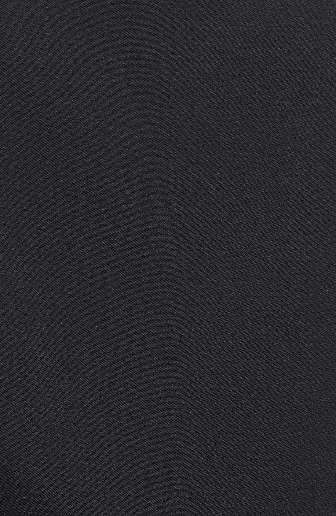 Alternate Image 3  - Line & Dot Tailored Overalls