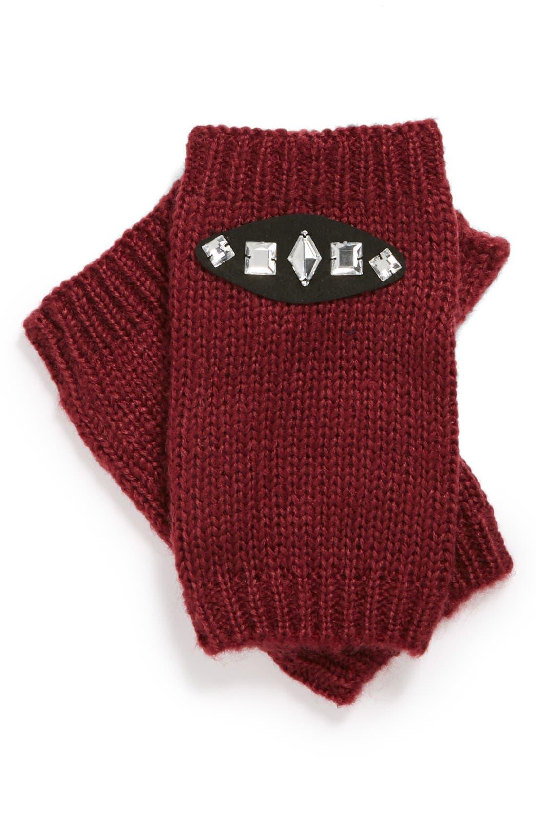 Main Image - Tildon Jeweled Fingerless Gloves