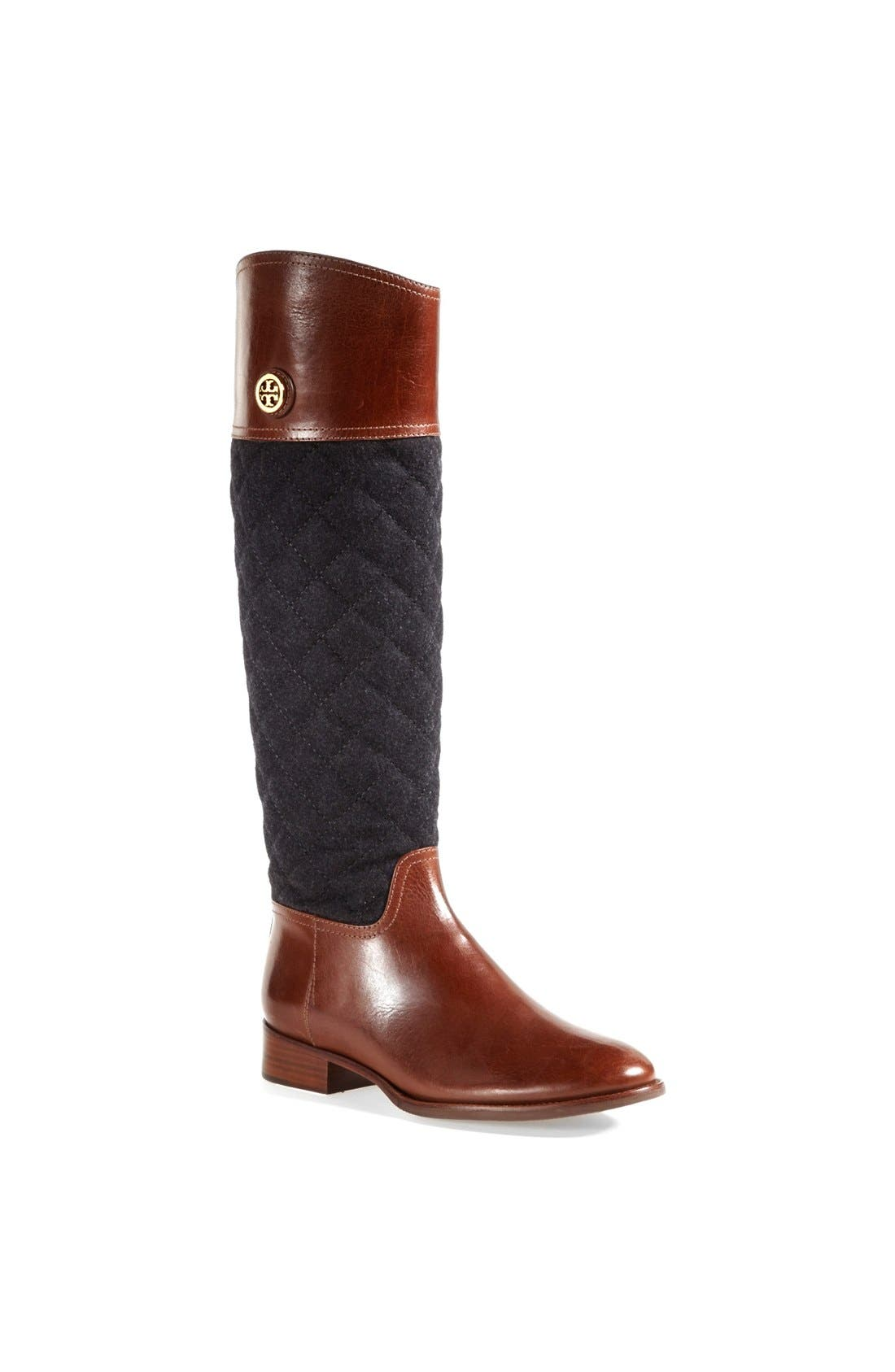 Main Image - Tory Burch 'Rosalie' Riding Boot