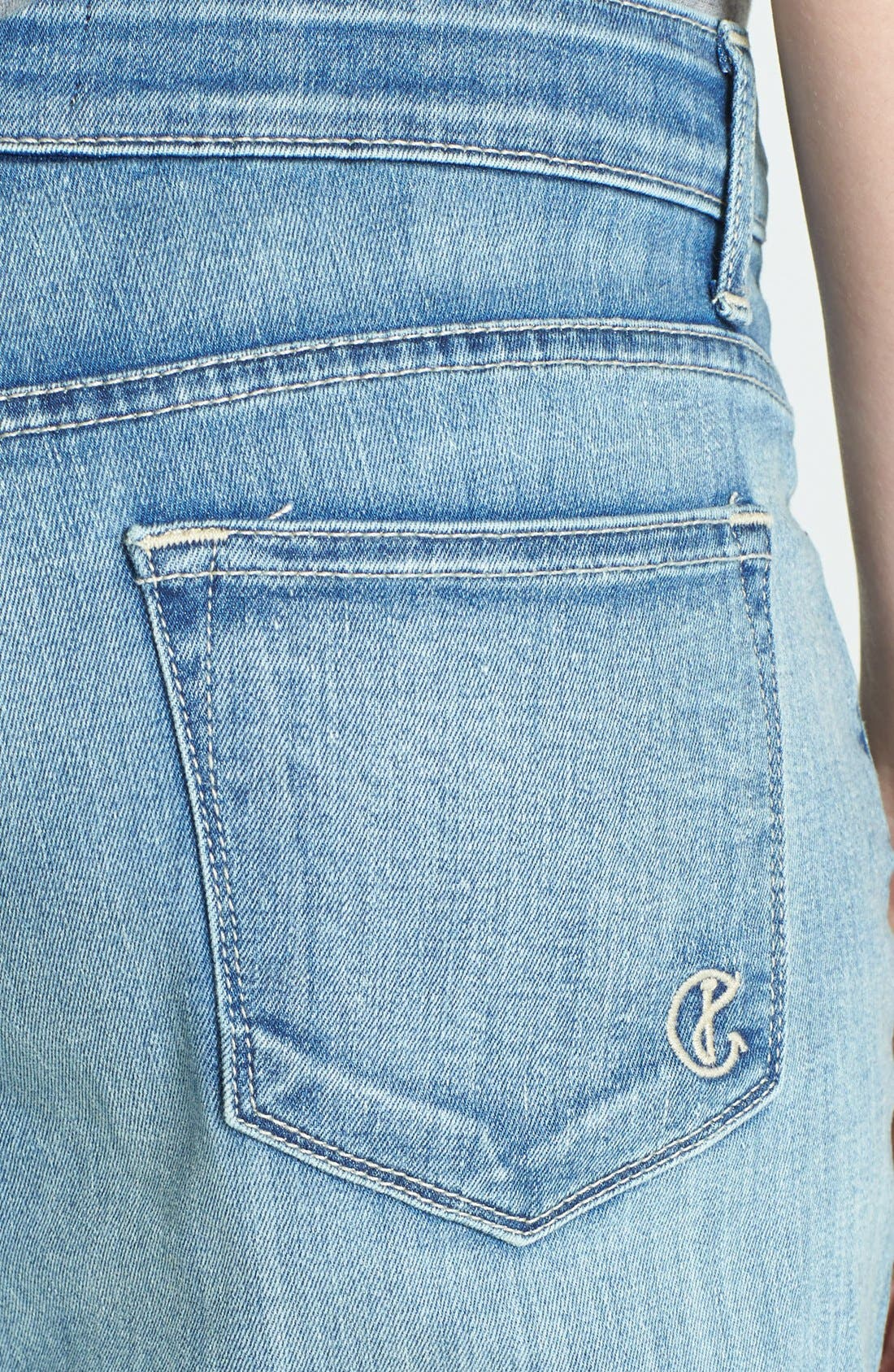 Alternate Image 3  - CJ by Cookie Johnson 'Rejoice' Stretch Crop Boyfriend Jeans (Simpson)
