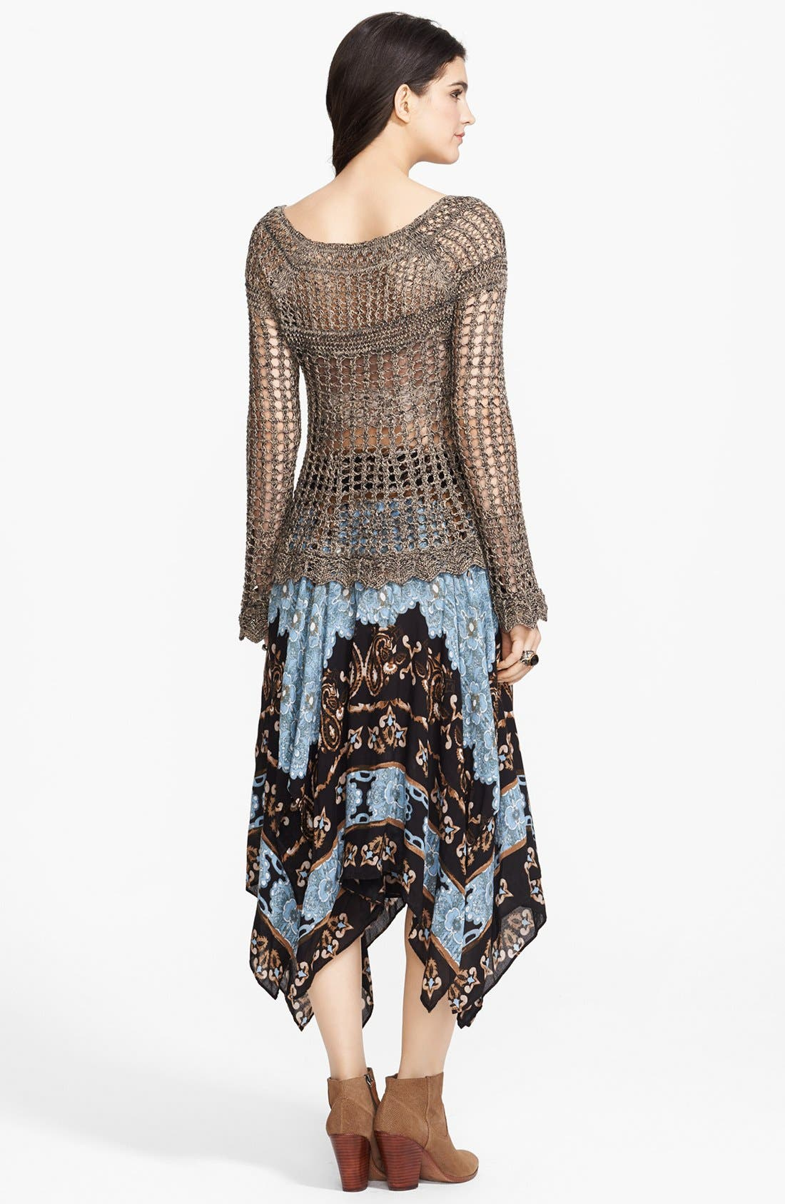 Alternate Image 4  - Free People 'Annabelle' Crocheted Pullover