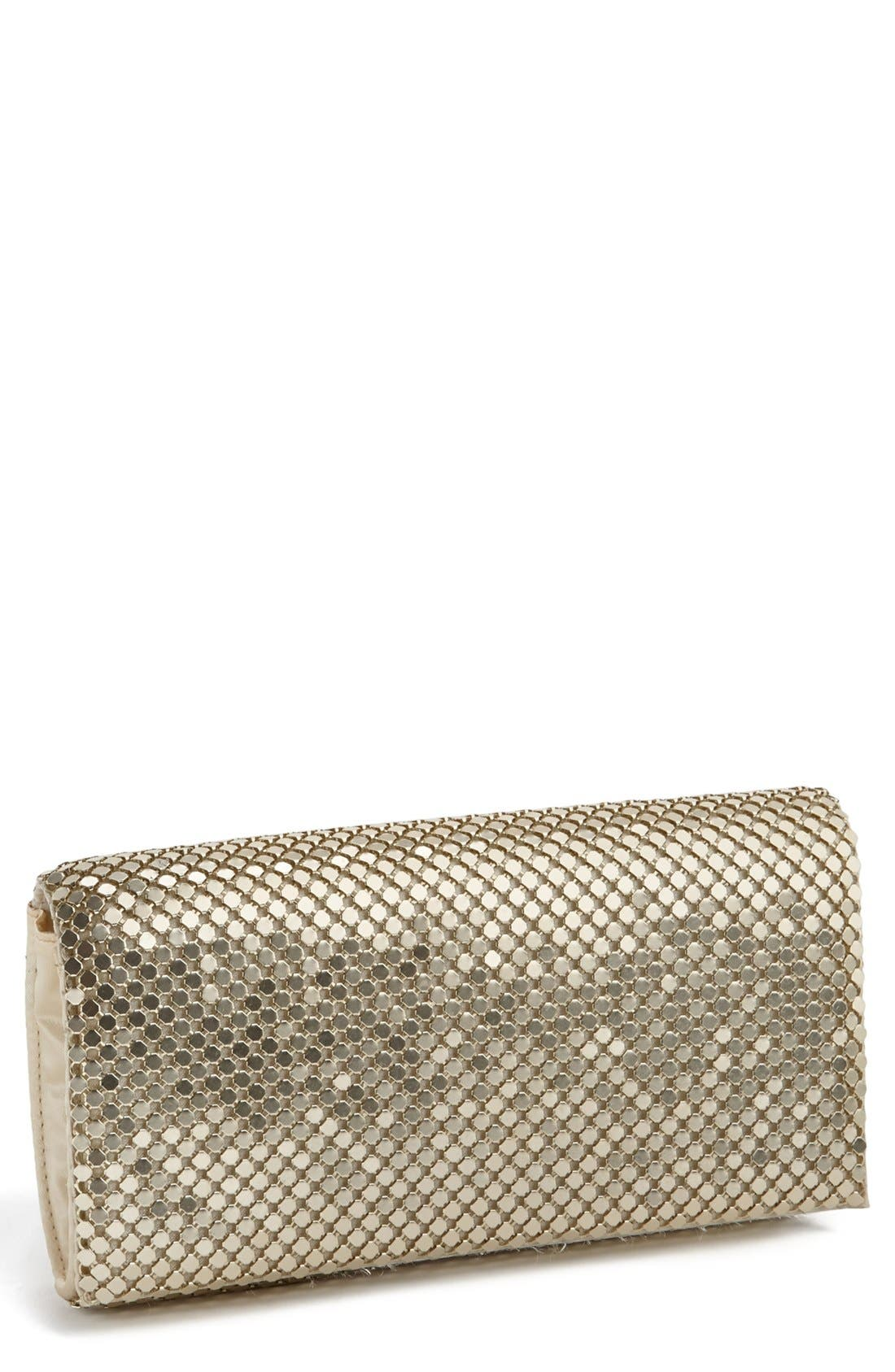 Alternate Image 1 Selected - Jessica McClintock Mesh Clutch