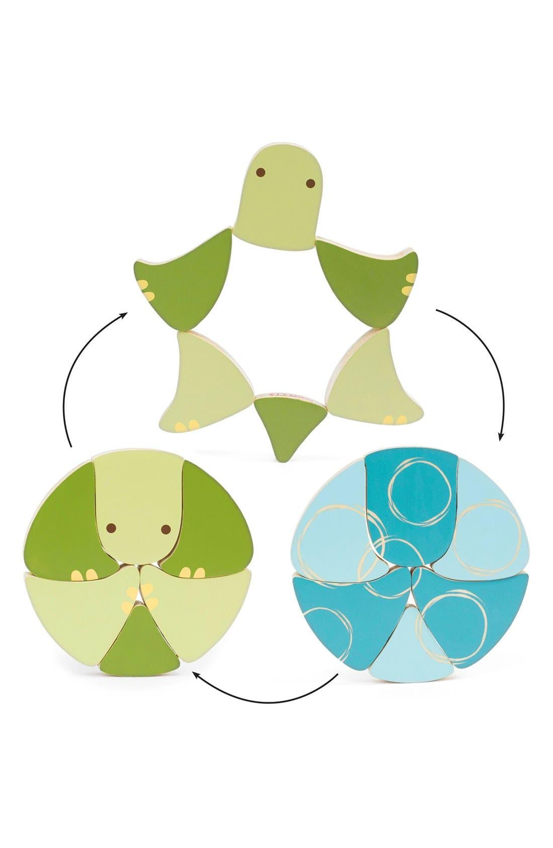 Alternate Image 4  - Skip Hop 'Giraffe Safari - Flip & Play Turtle' Wooden Toy