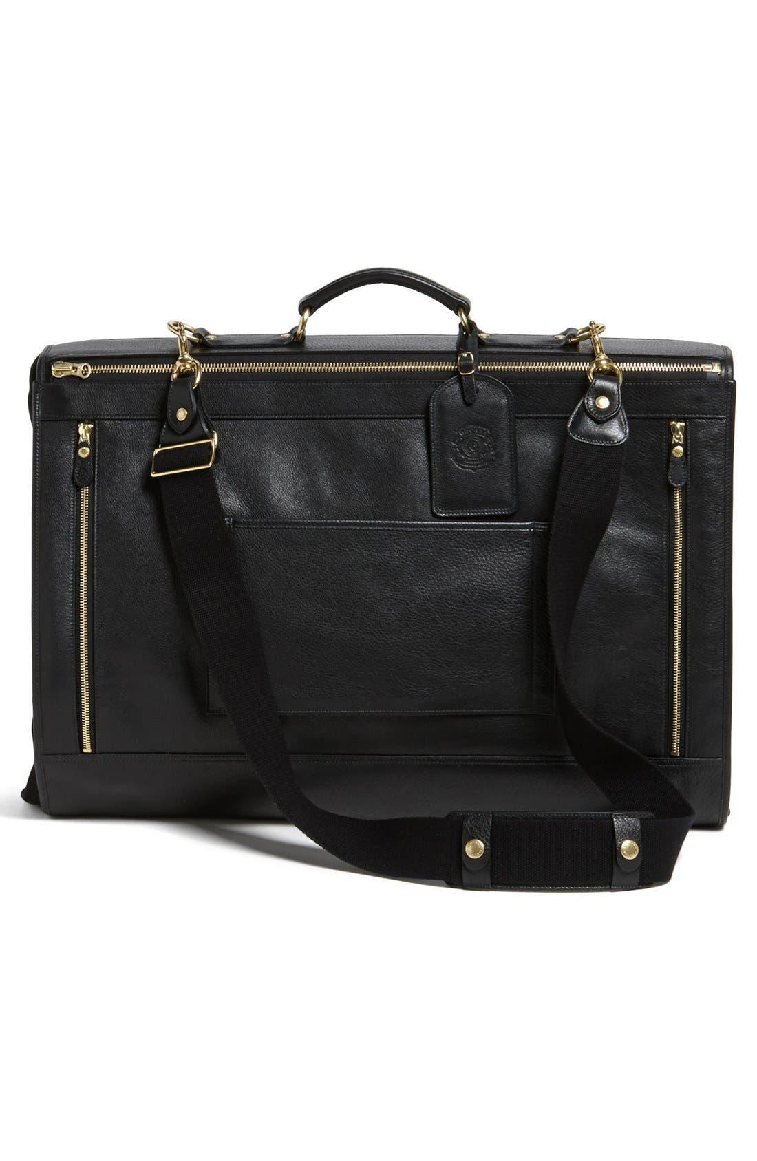 Alternate Image 2  - Ghurka 'Packet No. 83' Leather Garment Bag