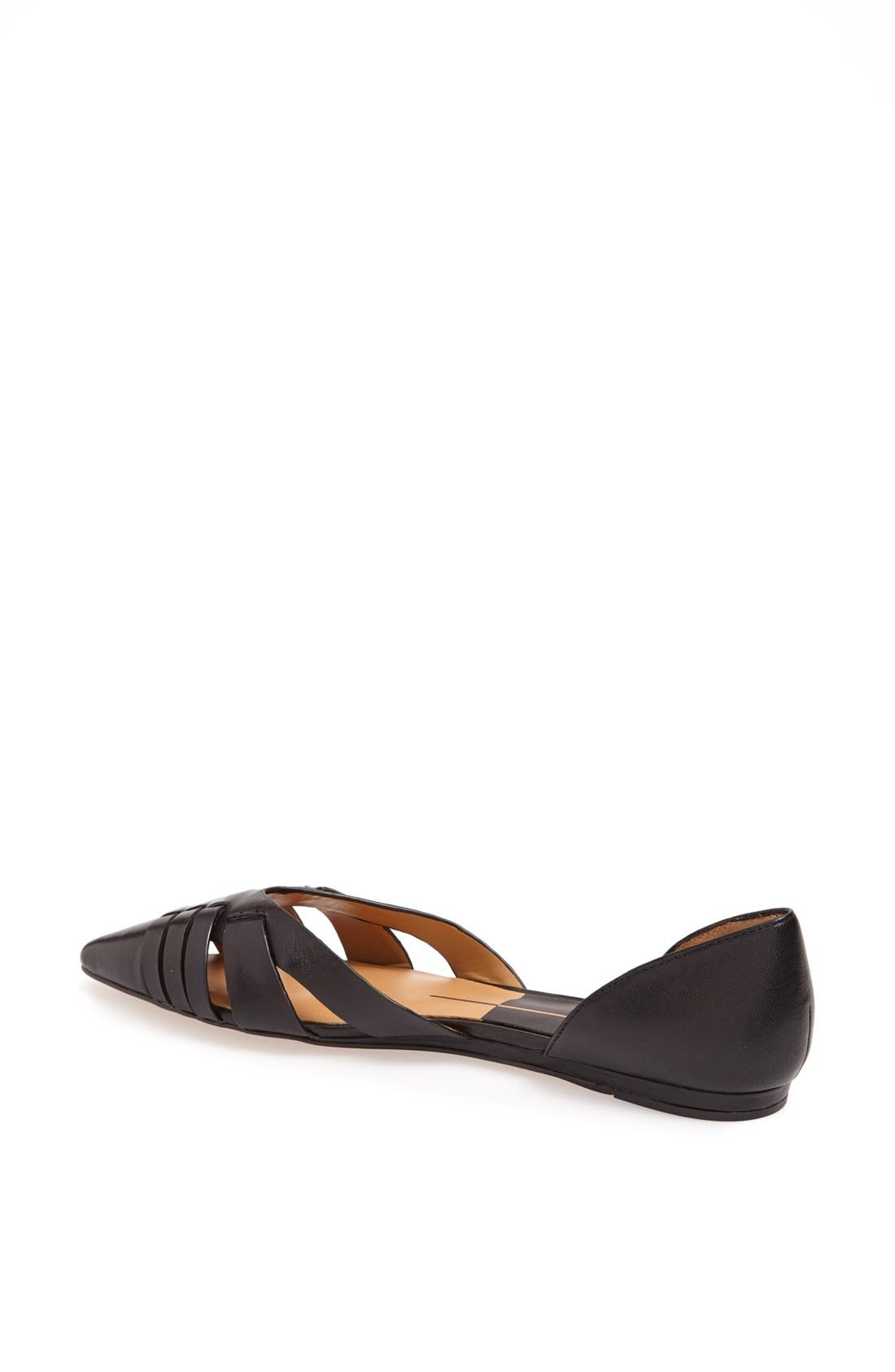 Alternate Image 2  - Dolce Vita 'Alpha' Leather Flat Sandal