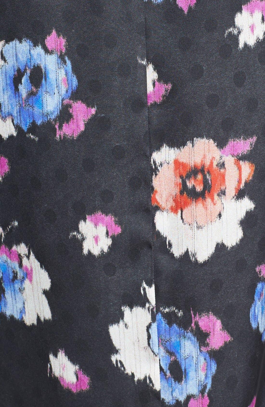 Alternate Image 3  - Topshop Floral Tunic Dress