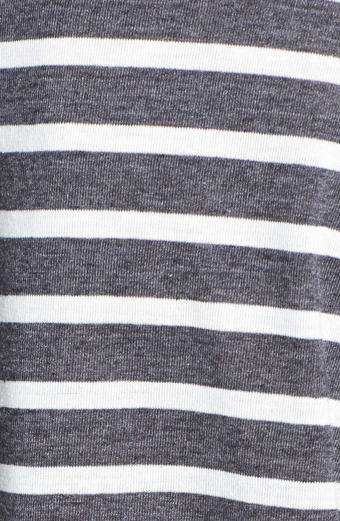Alternate Image 3  - Topshop Stripe Linen Tee