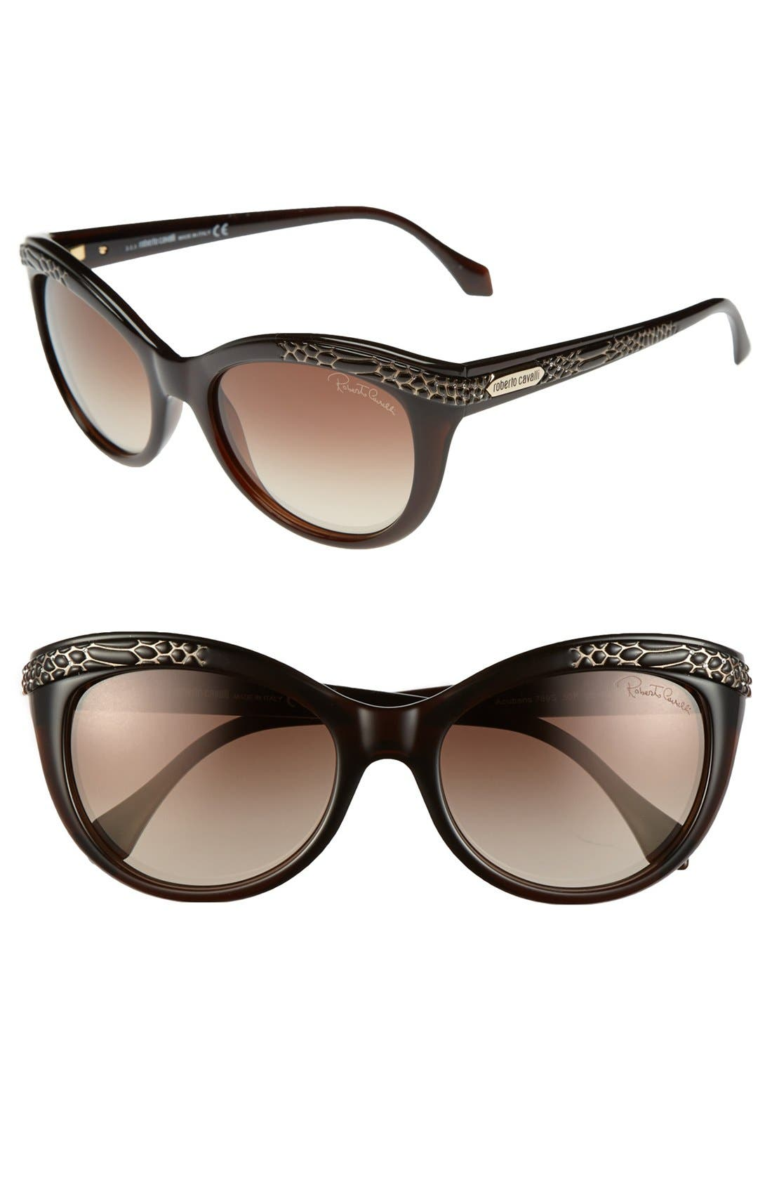 Main Image - Roberto Cavalli 'Acubens' 56mm Sunglasses