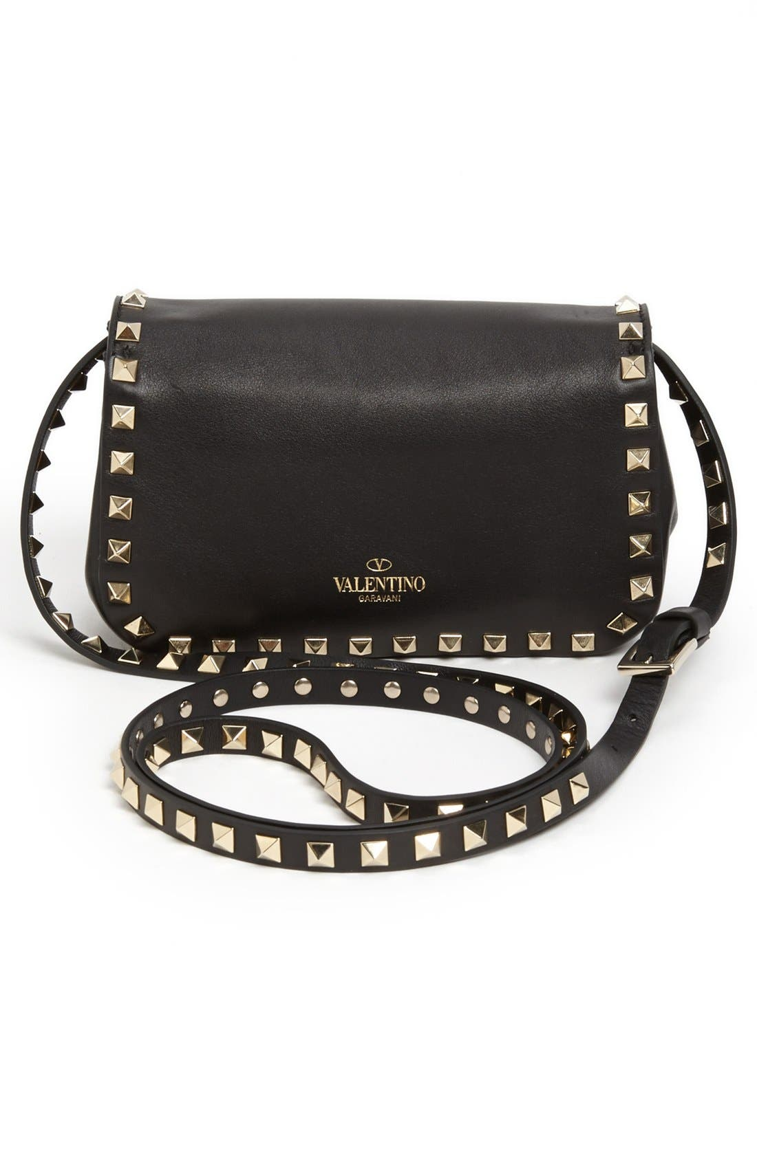 Alternate Image 4  - Valentino 'Small Rockstud' Flap Bag