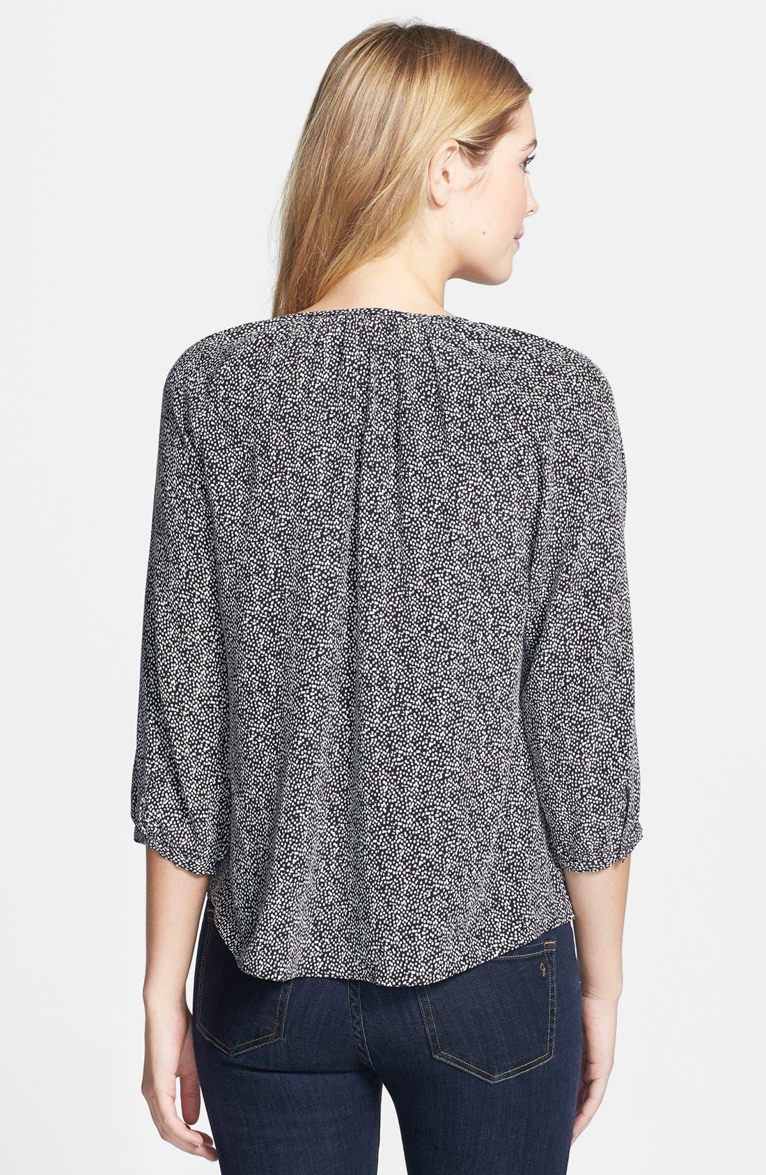 Alternate Image 2  - Joie 'Coralee' Print Silk Blouse