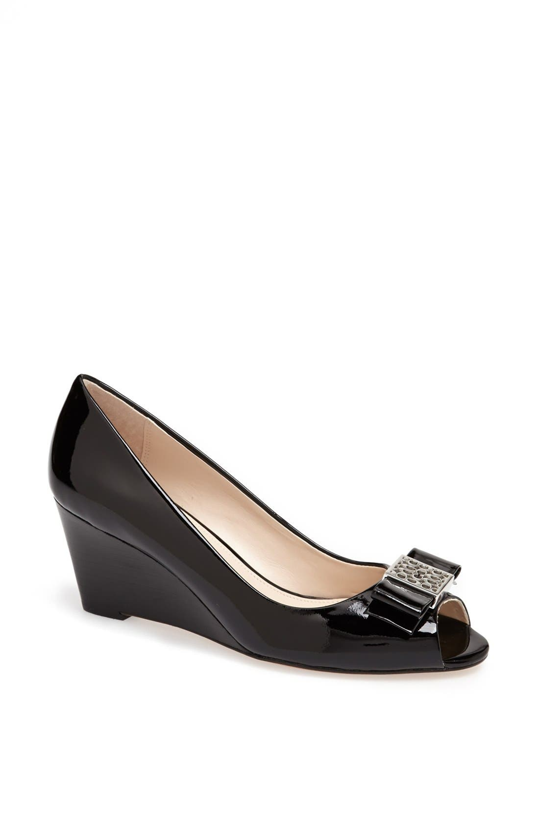 Alternate Image 1 Selected - COACH 'Gretchen' Wedge Pump