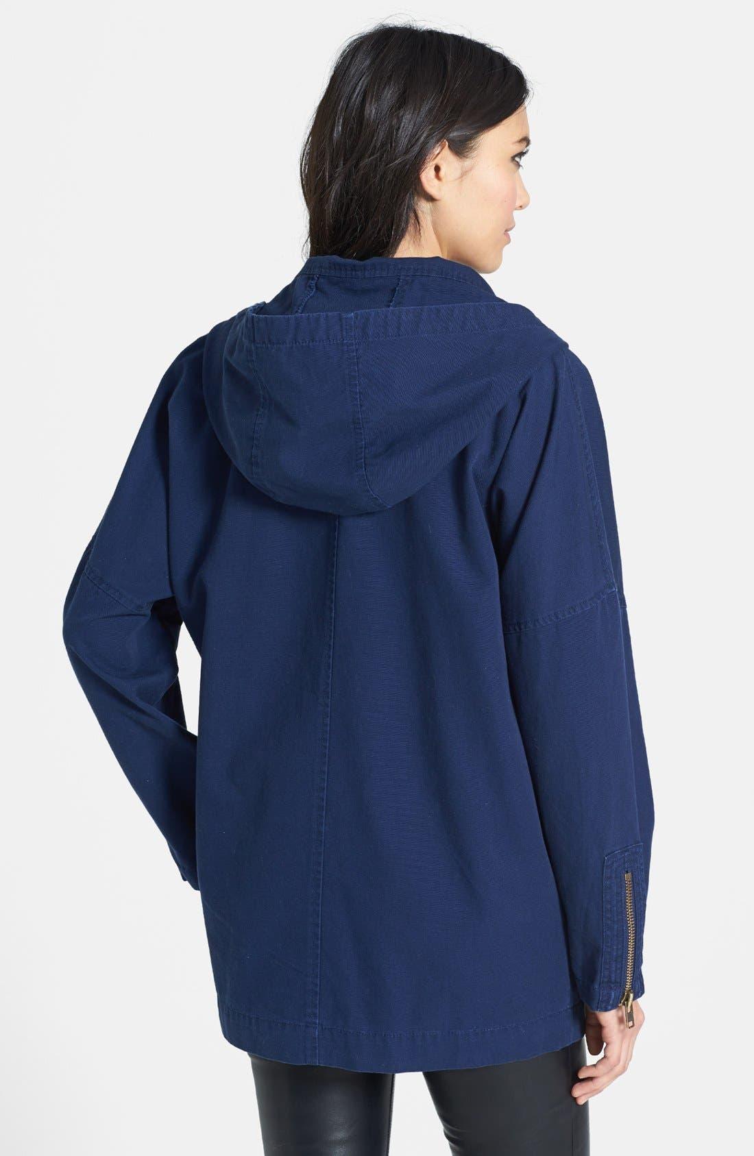 Alternate Image 2  - Leith Canvas Coat