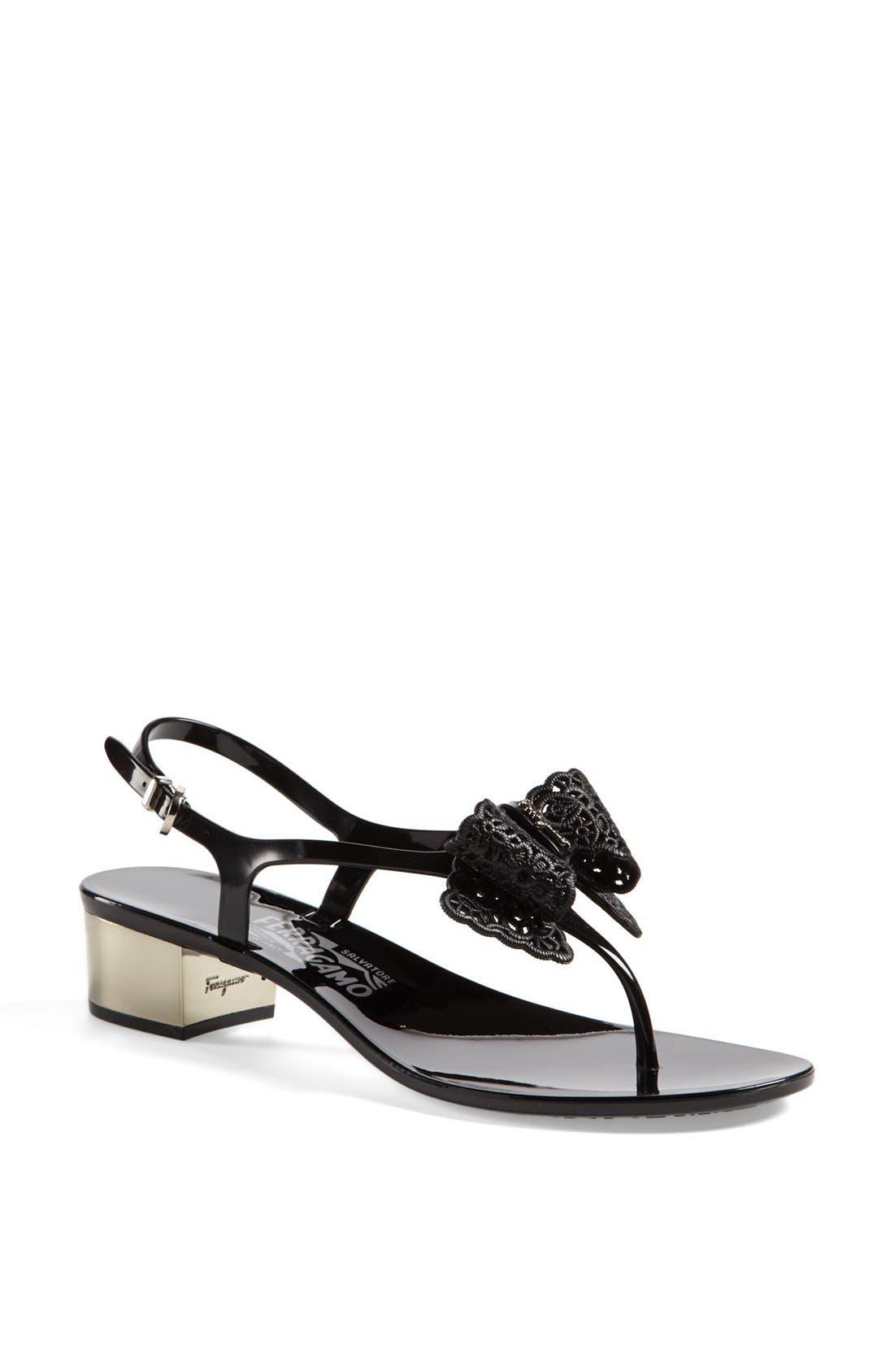 Alternate Image 1 Selected - Salvatore Ferragamo 'Perala' Sandal