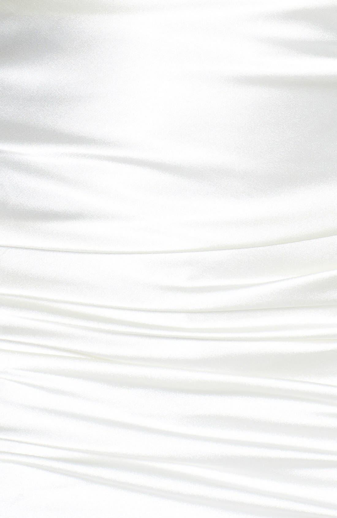 Alternate Image 3  - Hailey Logan Strapless Ruched Body-Con Dress (Juniors)
