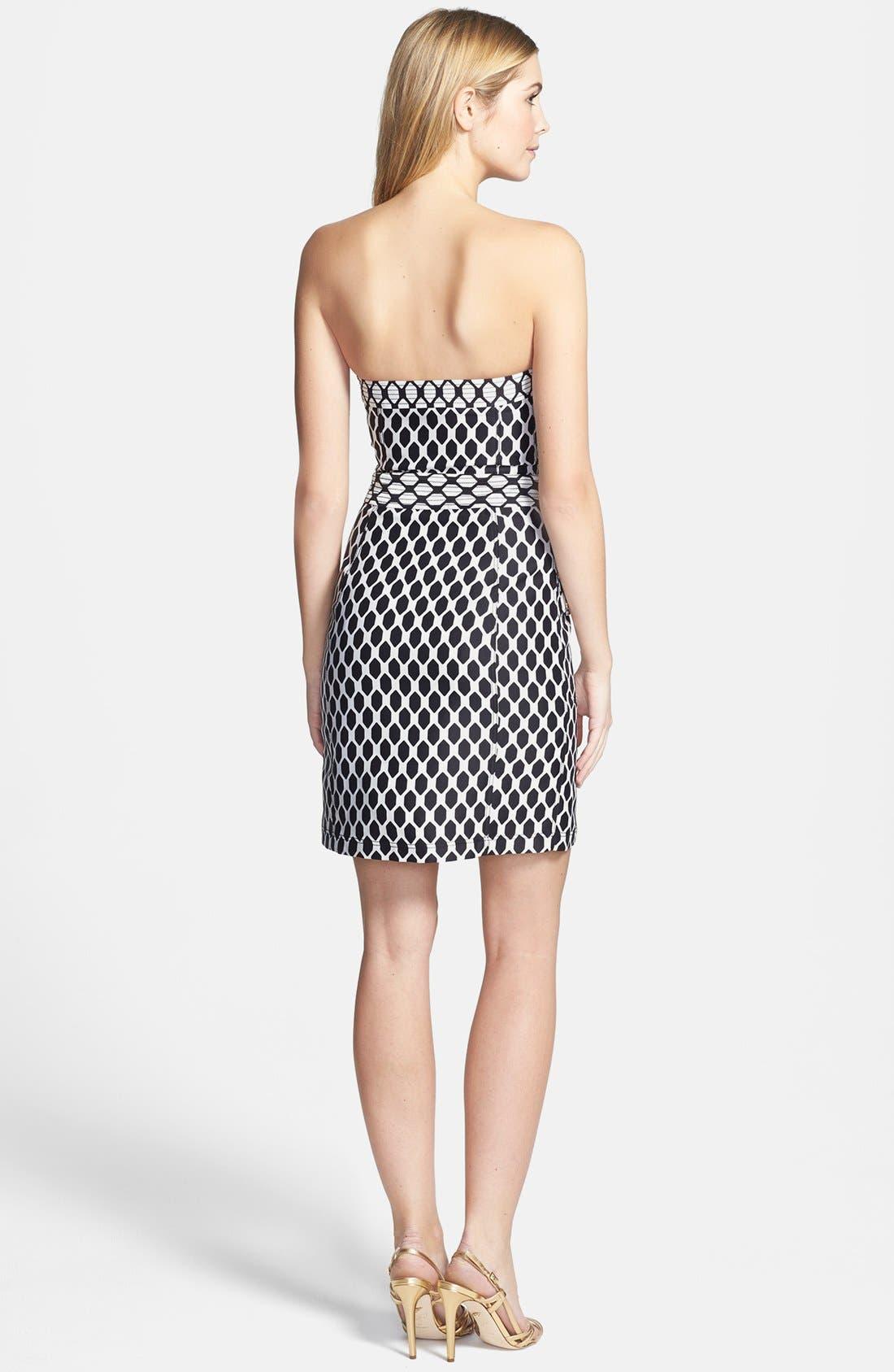 Alternate Image 2  - Diane von Furstenberg 'Adida' Wool & Silk Sheath Dress