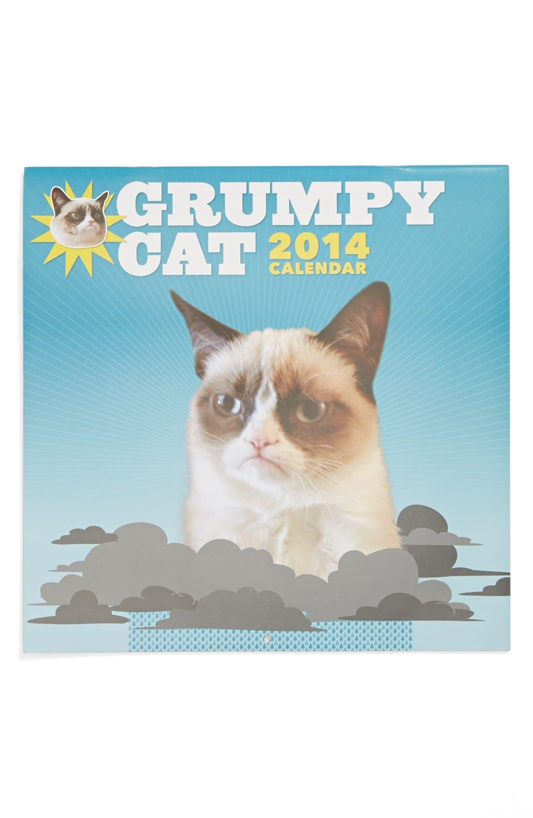 Alternate Image 1 Selected - Grumpy Cat 2014 Wall Calendar