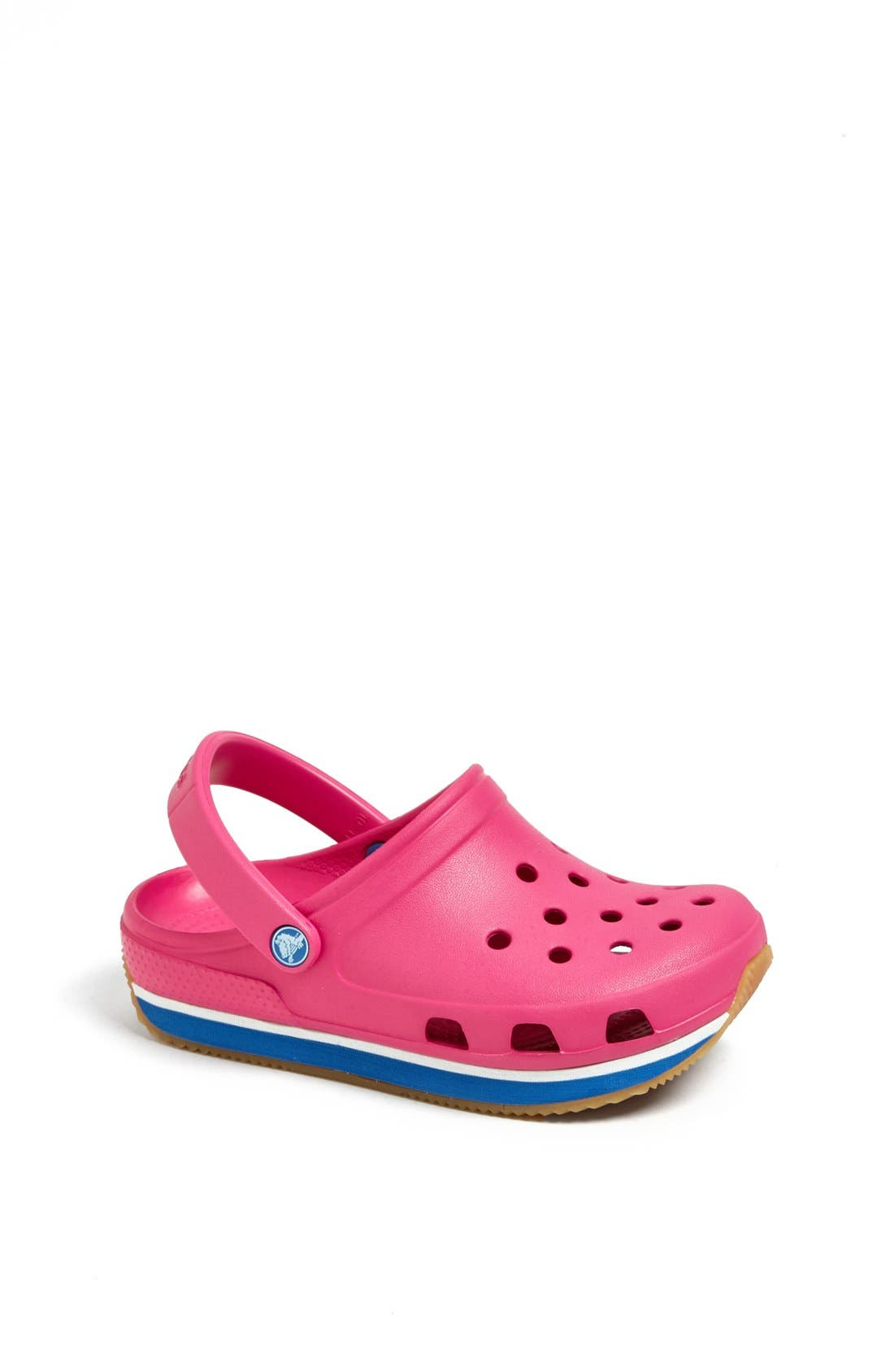 Alternate Image 1 Selected - CROCS™ 'Retro Clog' Slip-On (Walker, Toddler & Little Kid)