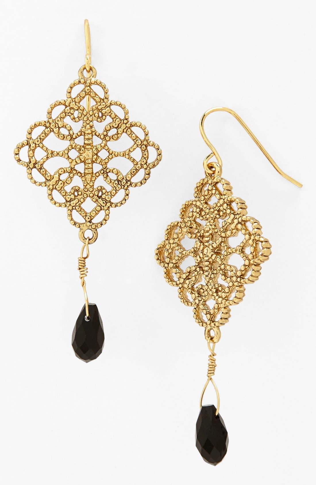 Main Image - Lauren Ralph Lauren Openwork Drop Earrings