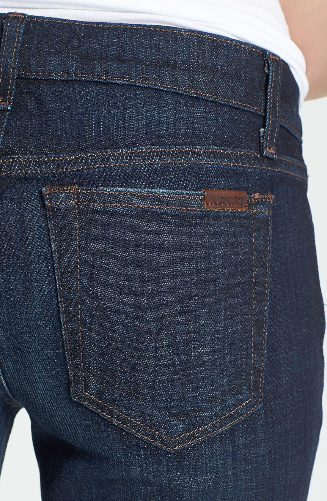 Alternate Image 3  - Joe's 'The Cigarette' Straight Leg Stretch Jeans (Dixie)