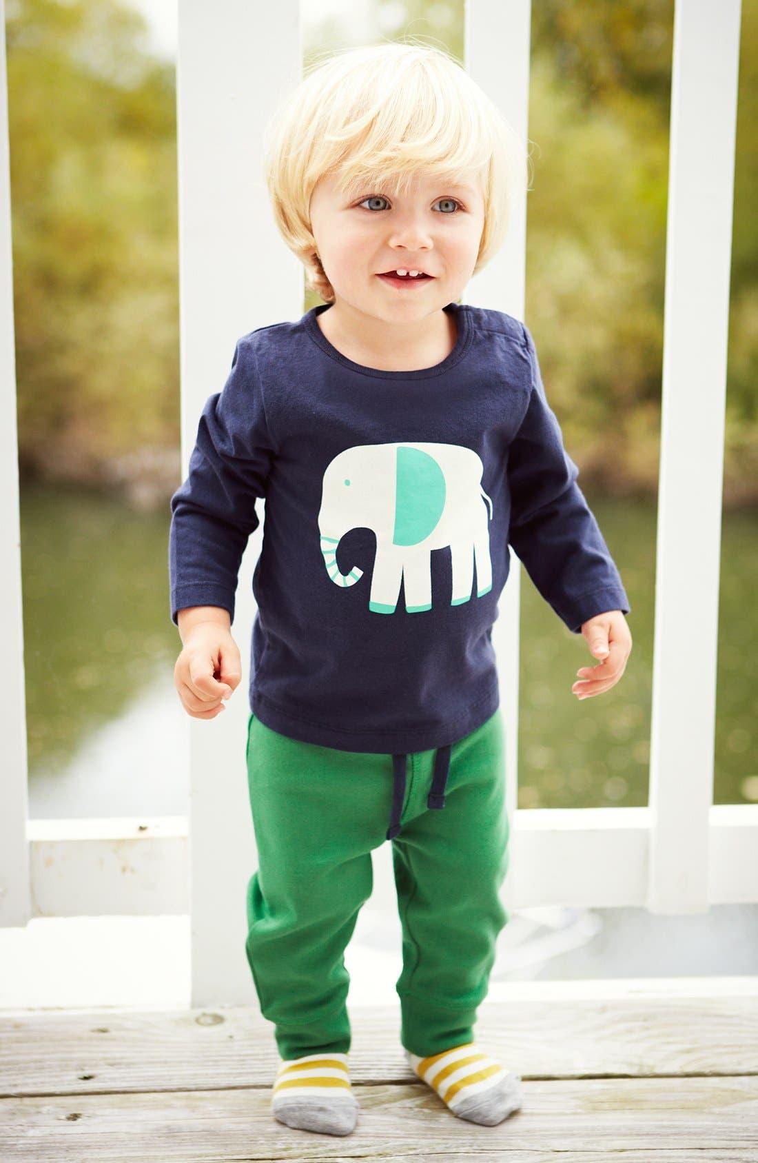 Alternate Image 2  - Mini Boden 'Fun' Print Logo T-Shirt (Baby Boys)