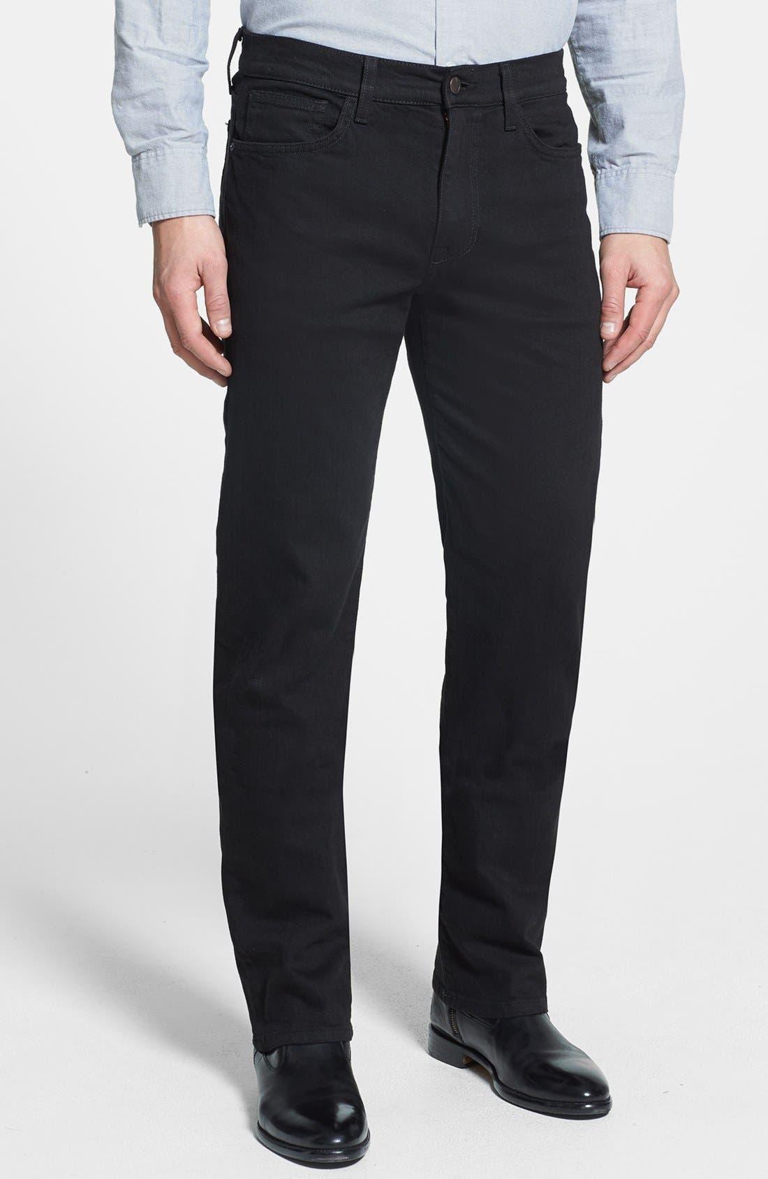 Alternate Image 1 Selected - Joe's 'Classic' Straight Leg Jeans (Jet Black)