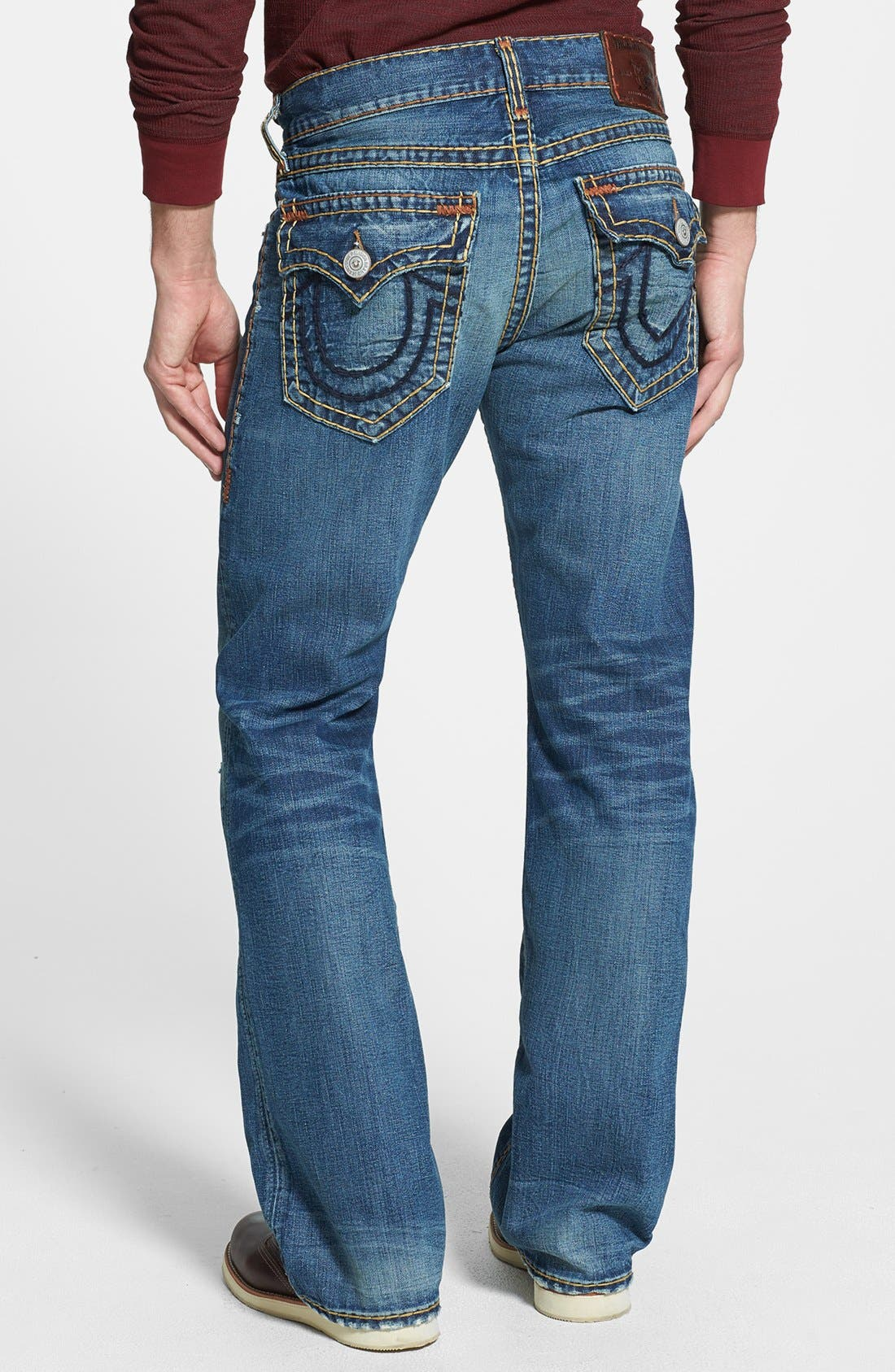 Alternate Image 1 Selected - True Religion Brand Jeans 'Billy' Bootcut Jeans (Bafm Hot Springs)