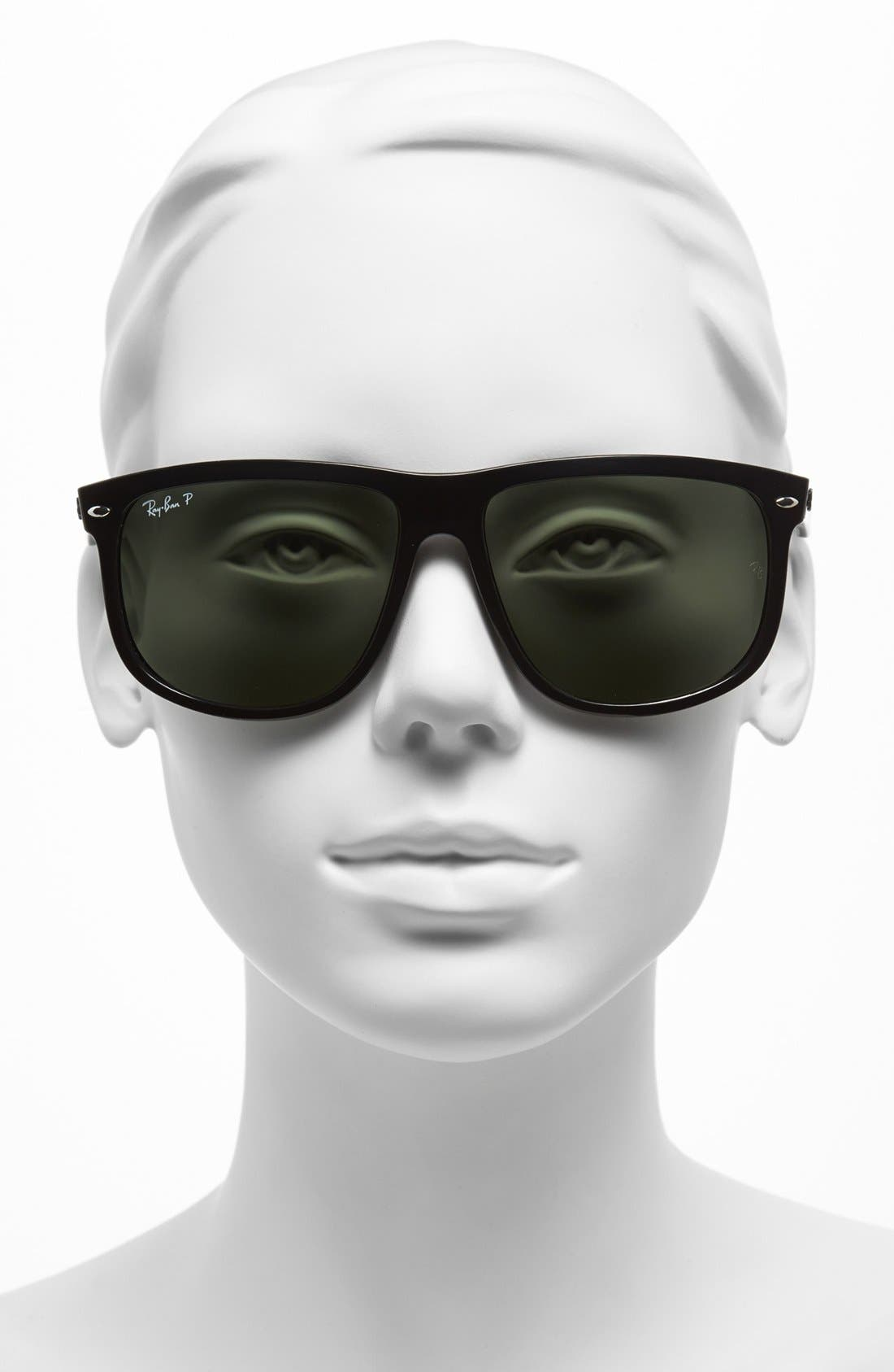 Alternate Image 2  - Ray-Ban Highstreet 60mm Polarized Flat Top Sunglasses