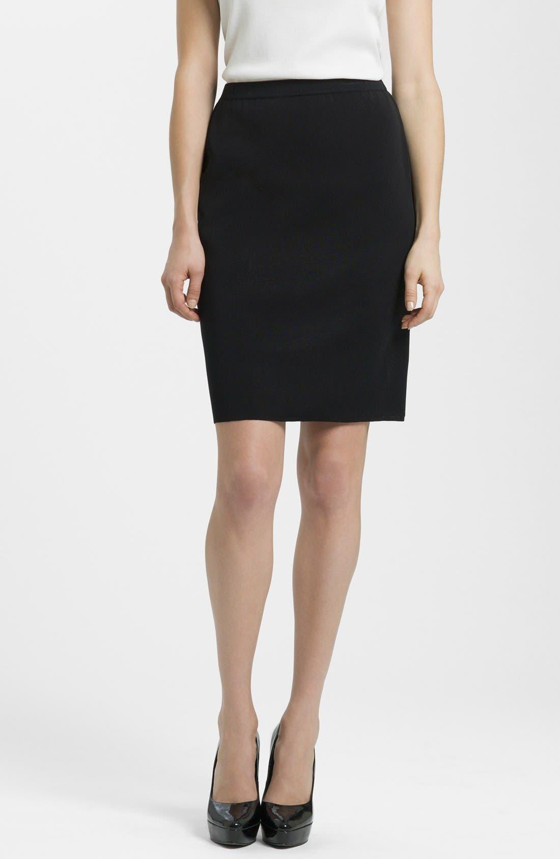 Main Image - Ming Wang Knit Pencil Skirt