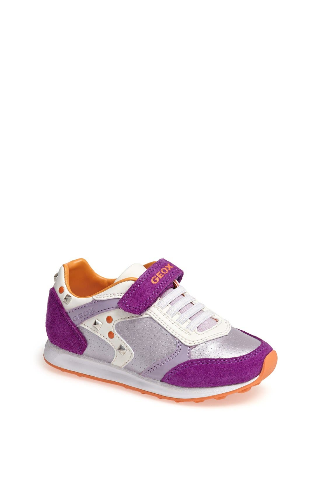 Alternate Image 1 Selected - Geox 'Elliot' Sneaker (Toddler & Little Kid)